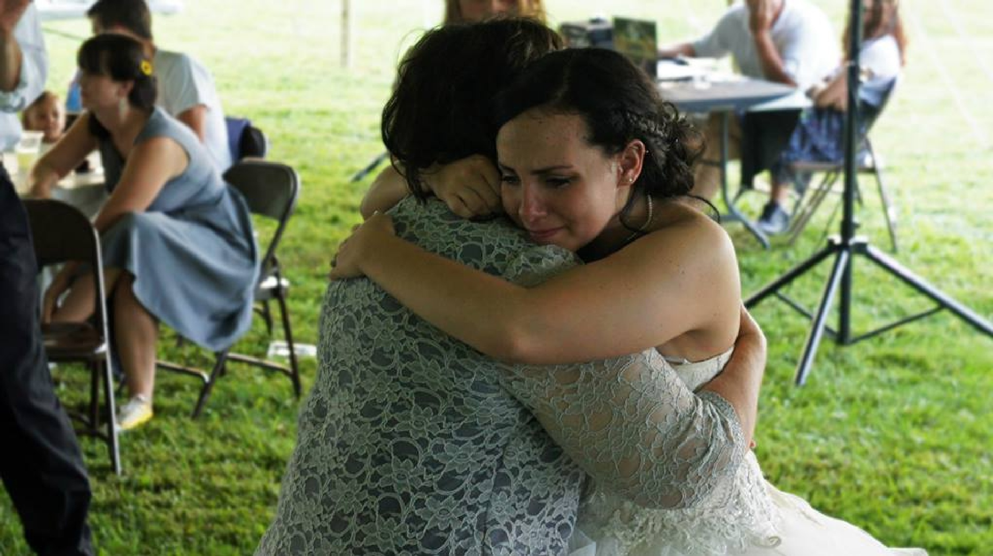 Mother/Daughter Wedding Pic by thomas.holbrook.33