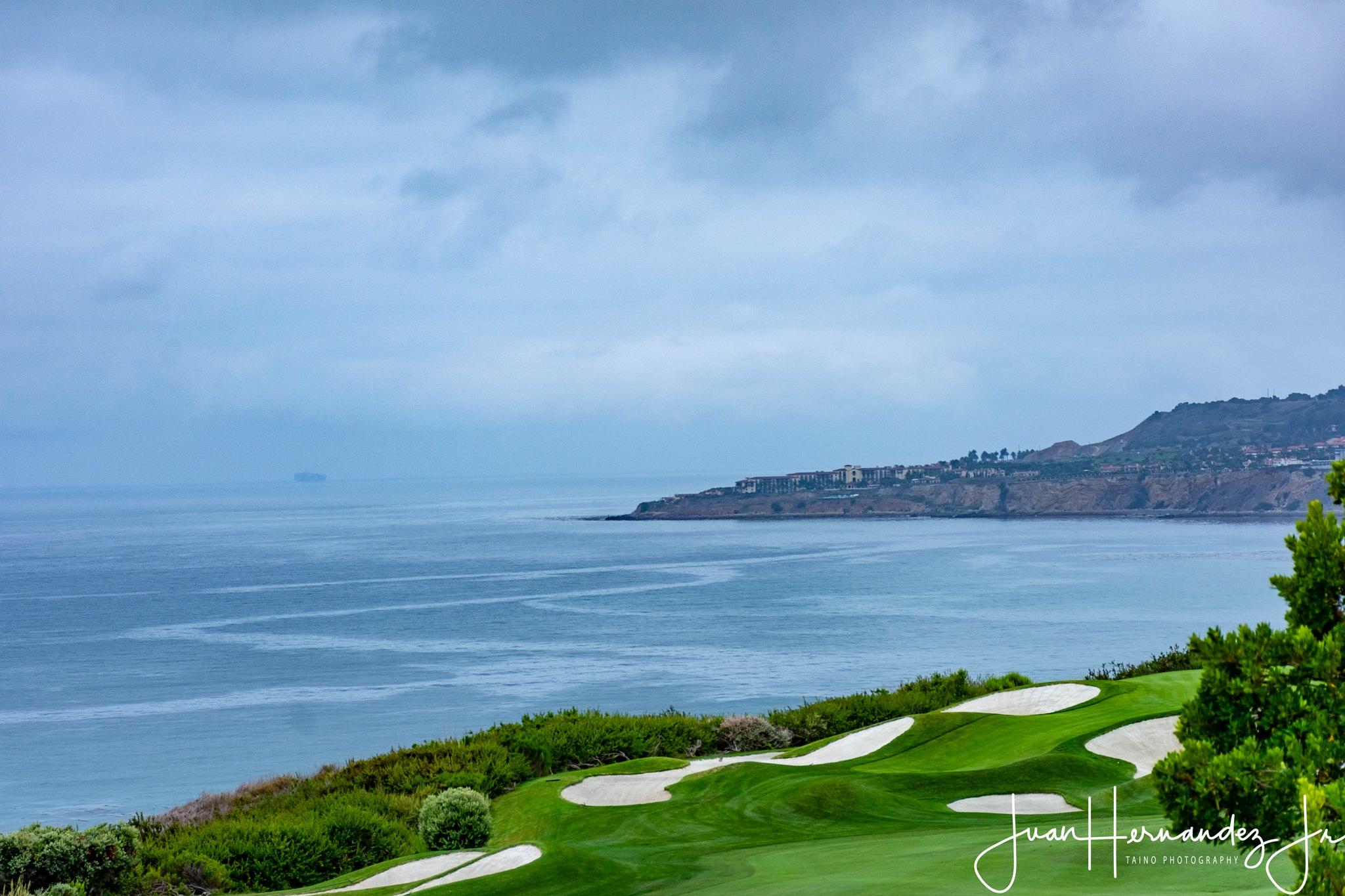 """""""Golfing by the sea"""" by Juan Hernandez Jr."""