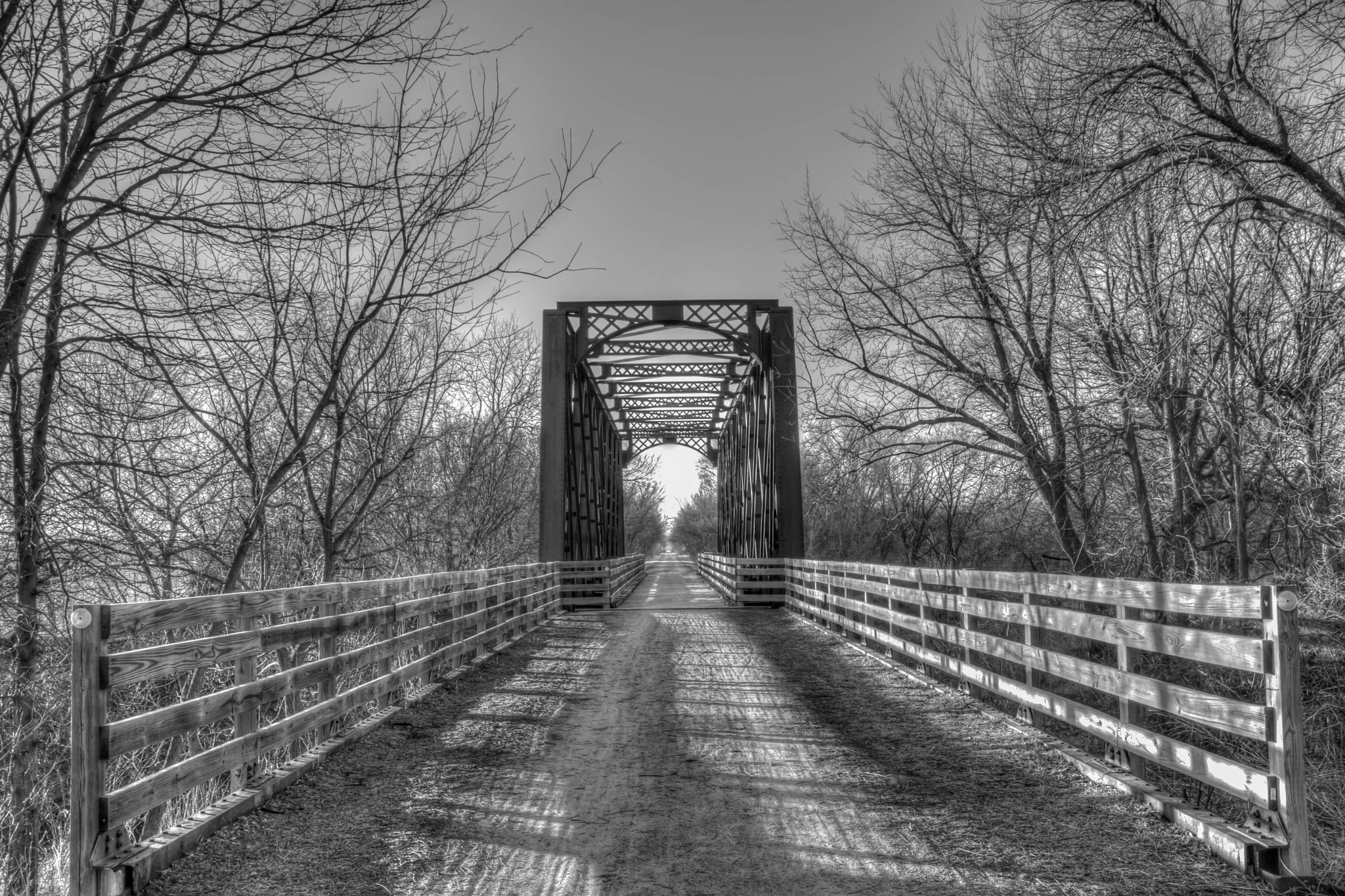 Bike Trail Bridge by Jay Douglass