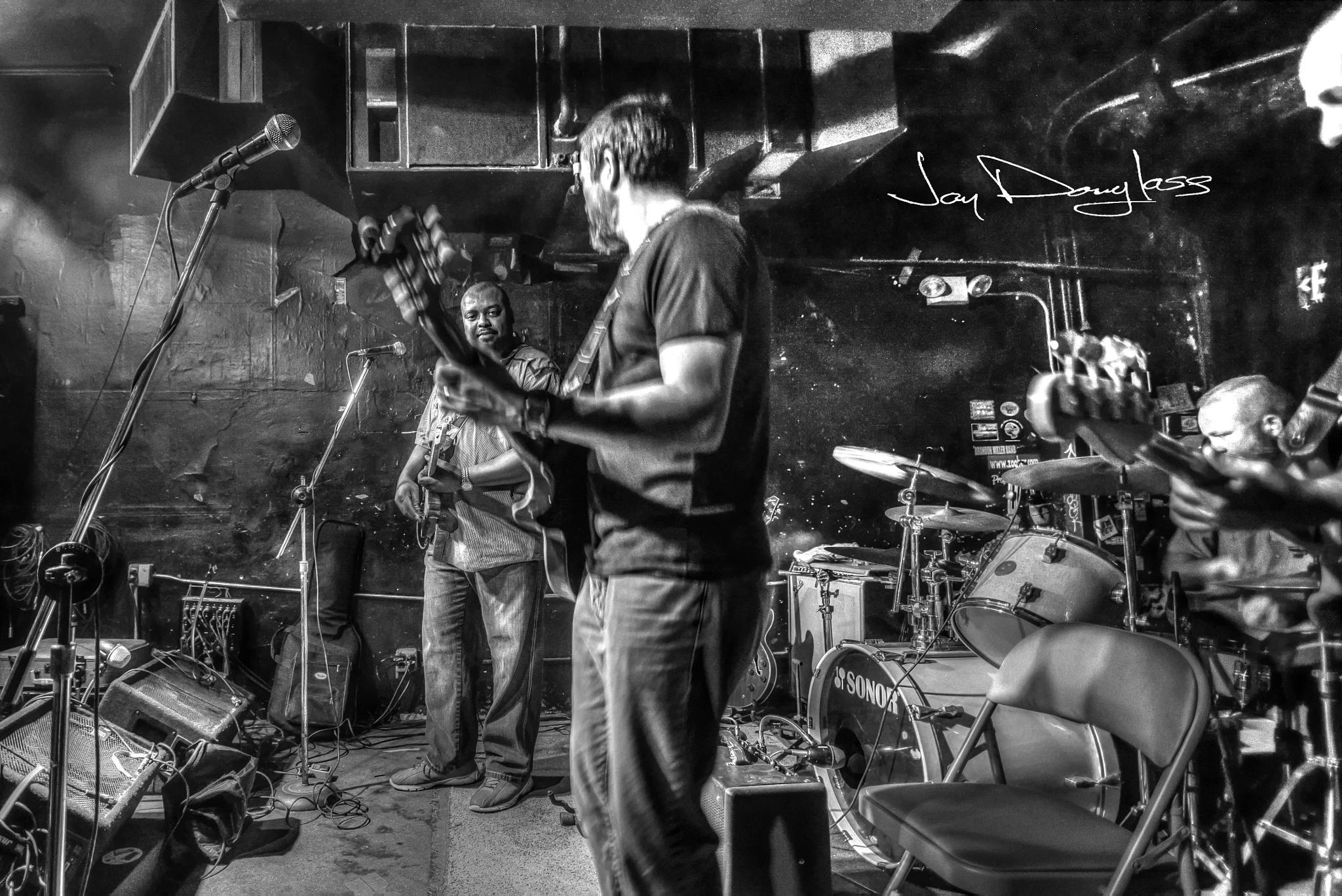 Lil Slim Blues Band by Jay Douglass