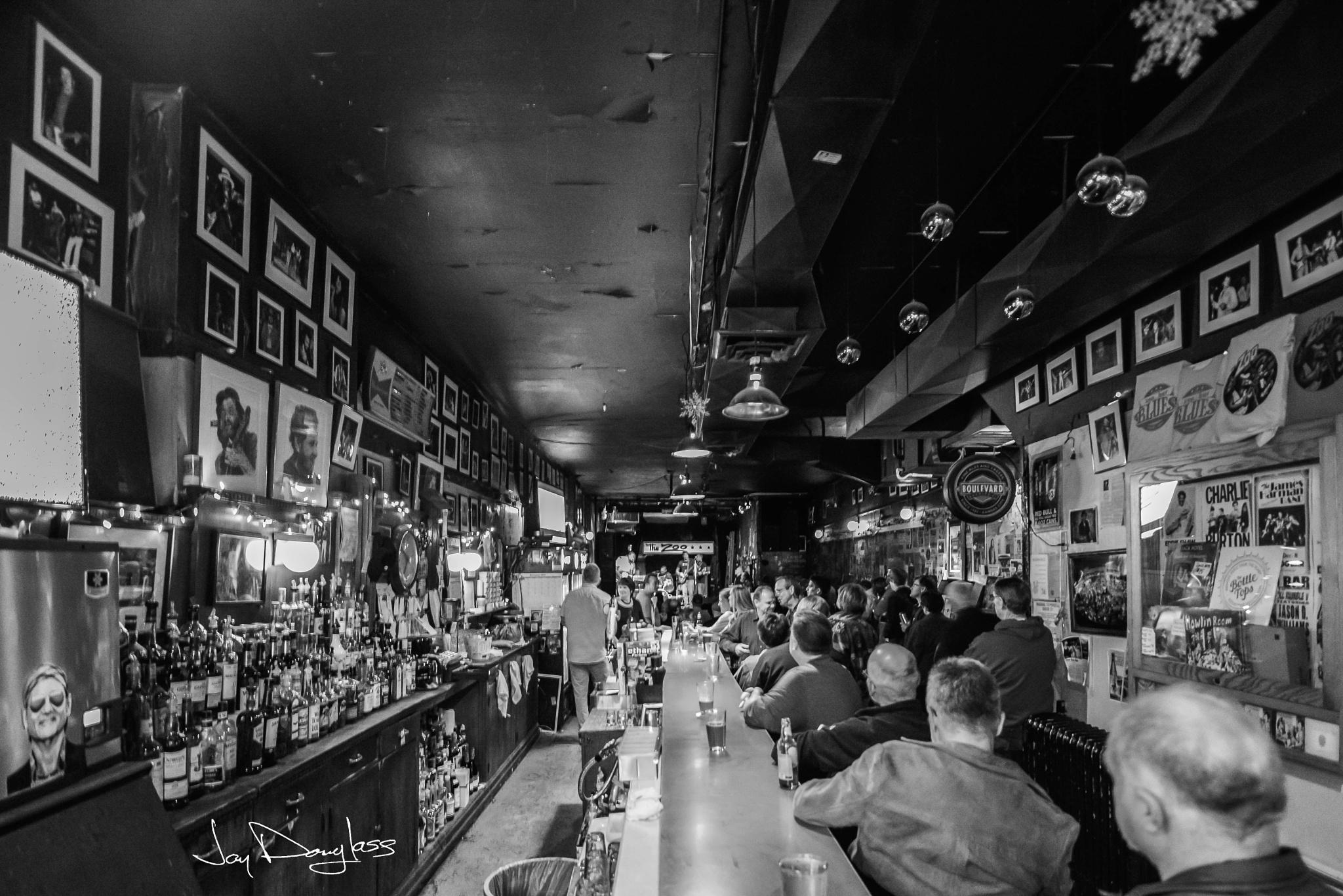 Inside Zoo Bar by Jay Douglass
