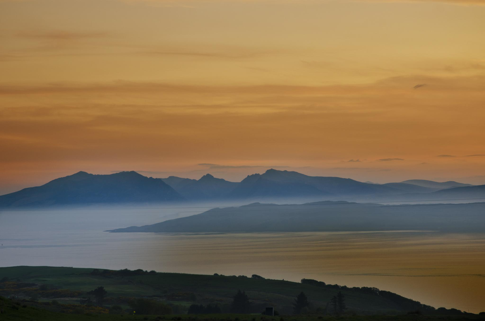 Arran Sunset by acawley1