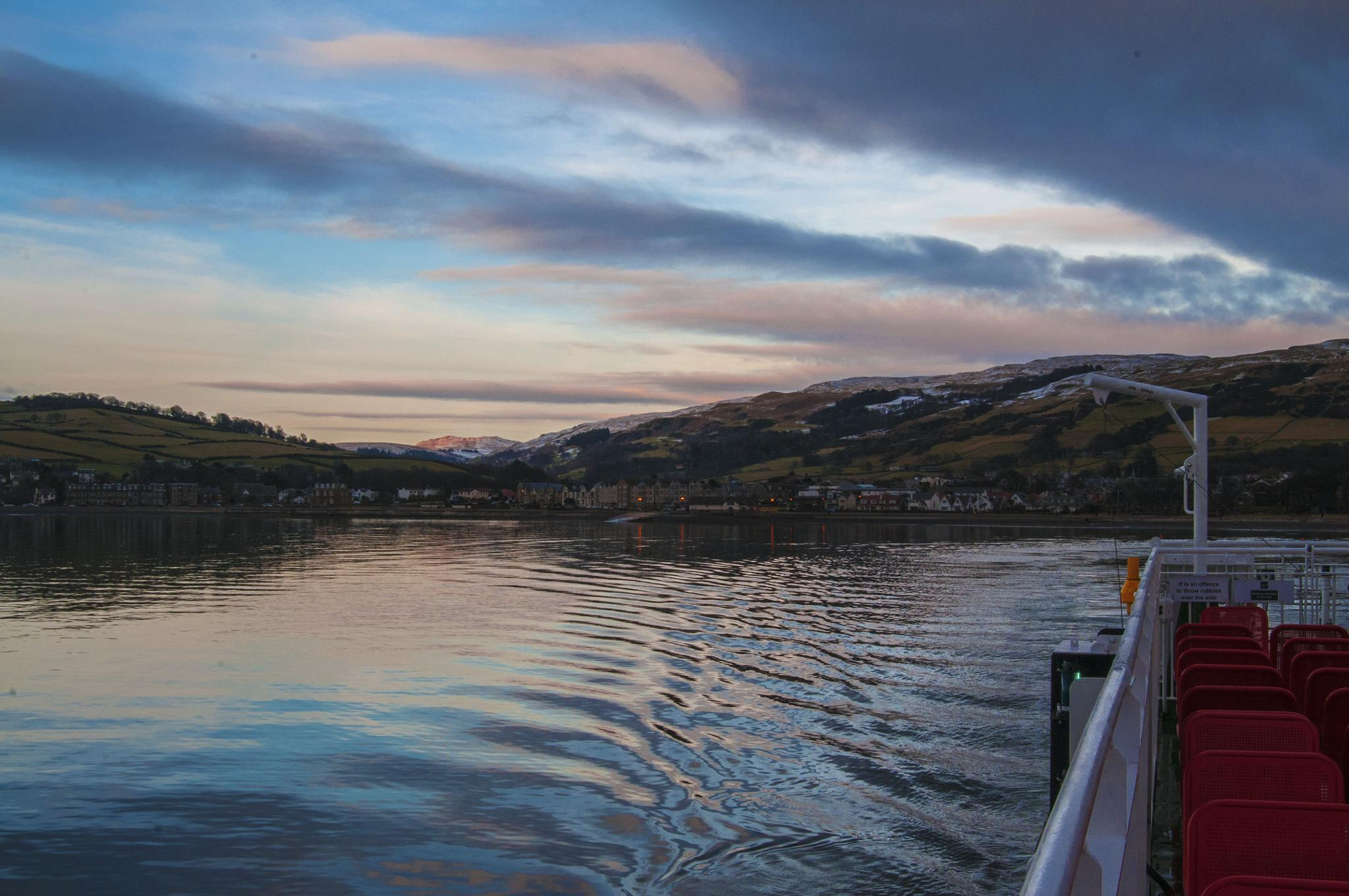 Ferry Home by acawley1