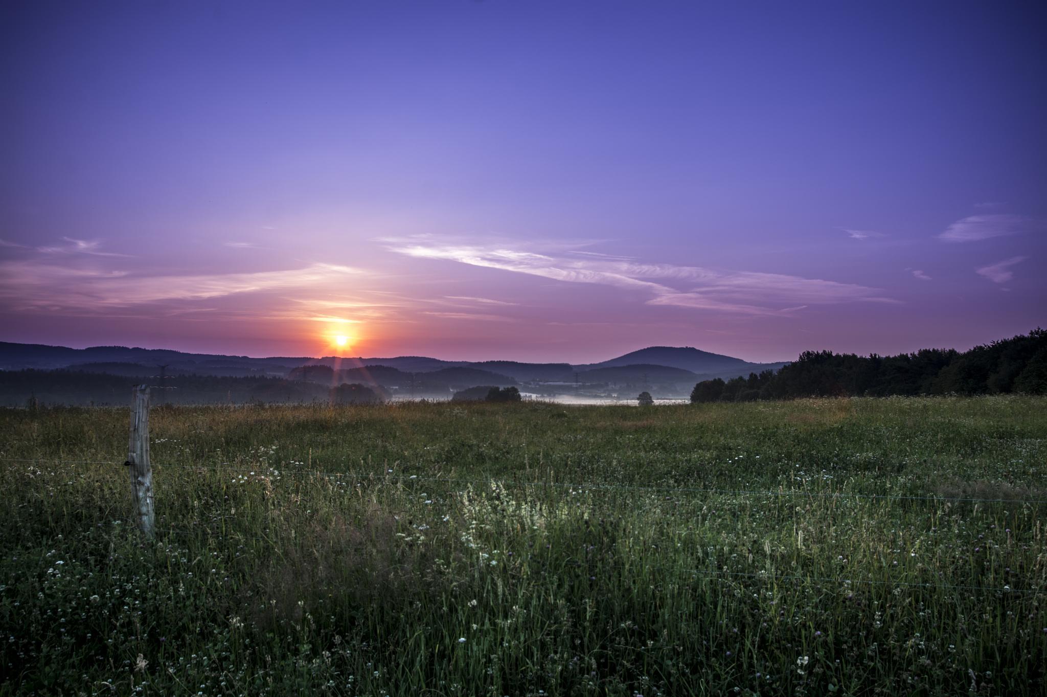 sunrise by Solaris
