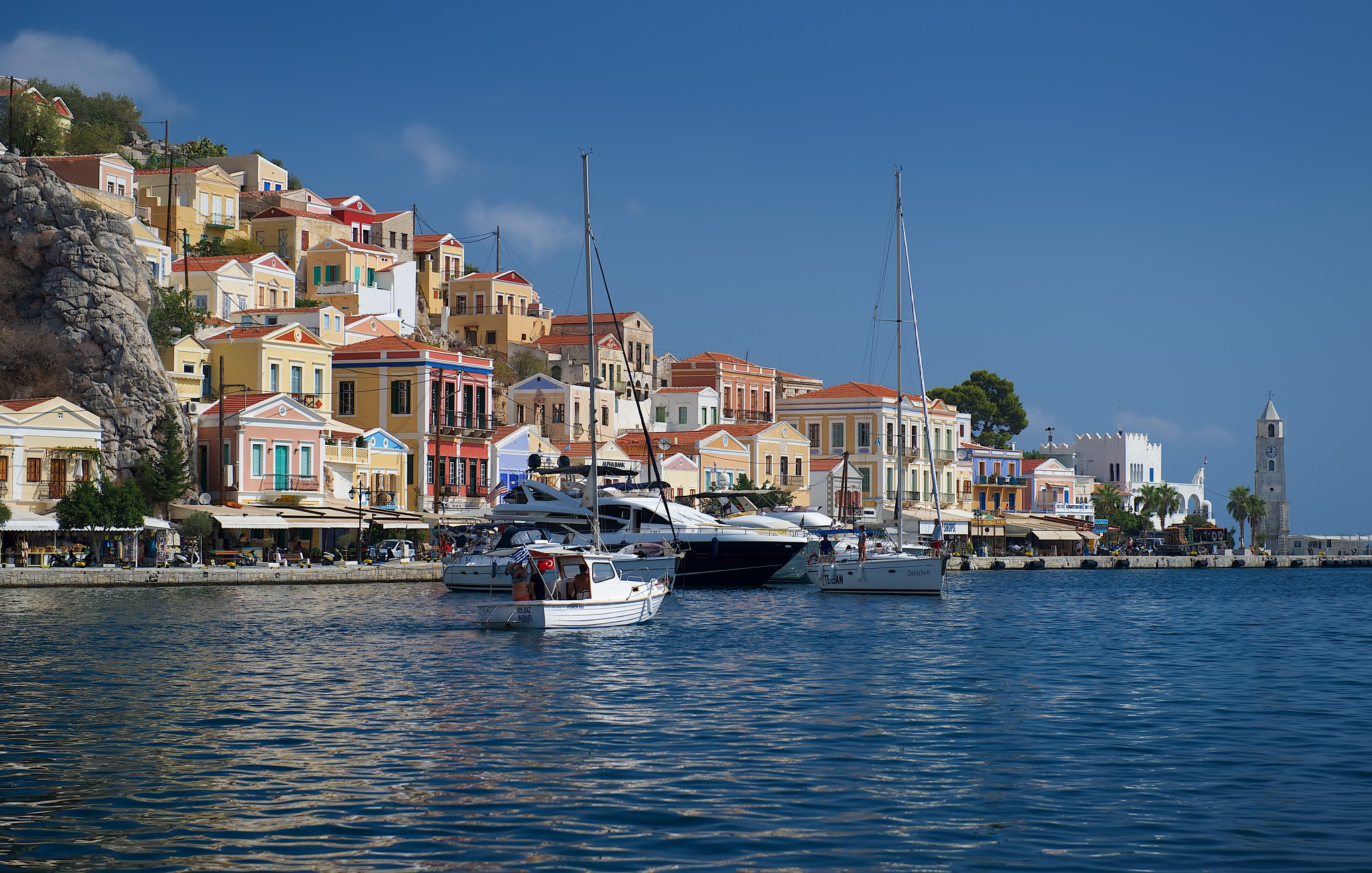 The colours of Symi by EmanuelPapamanolis