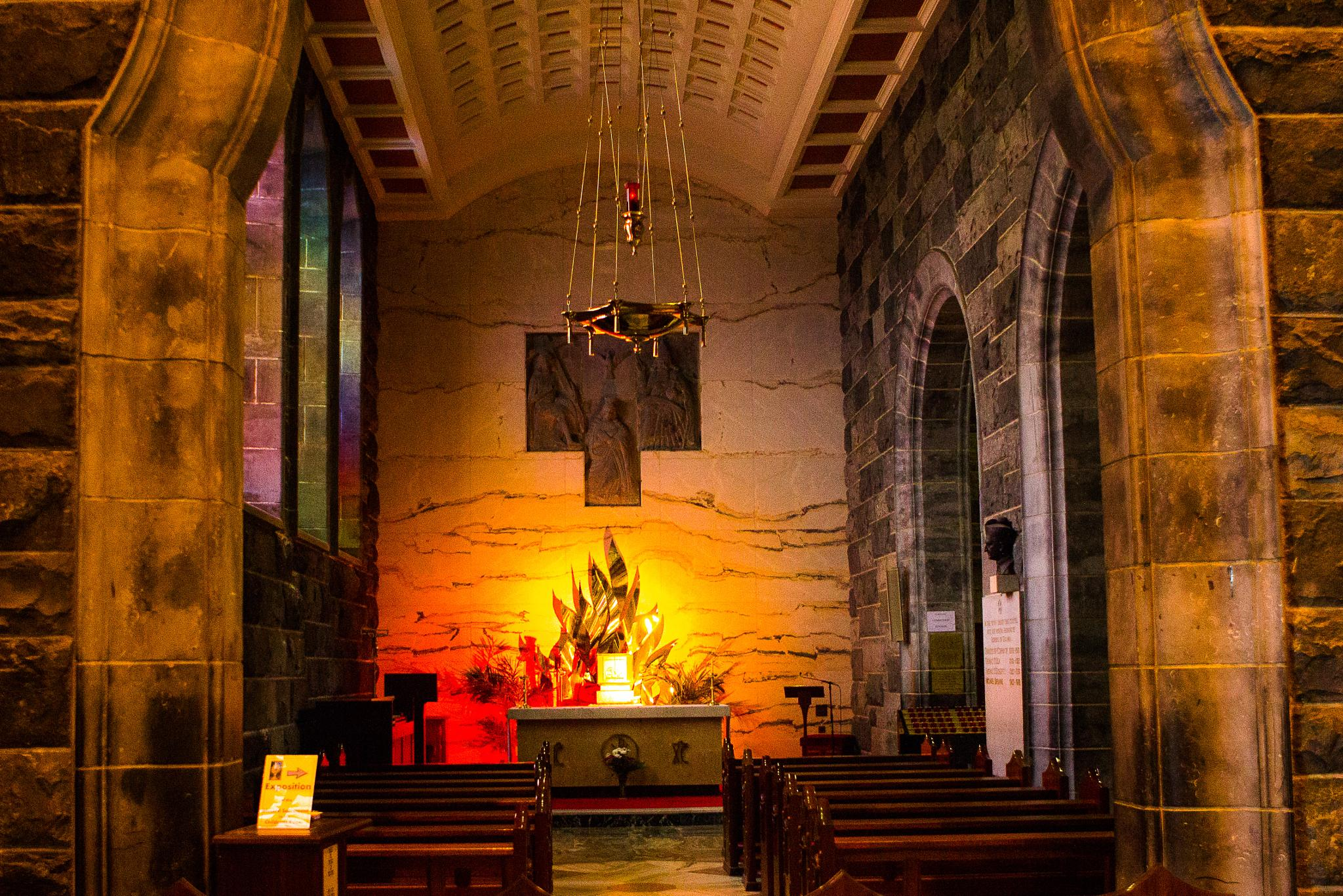 Chapel at Galway Cathedral by Don F