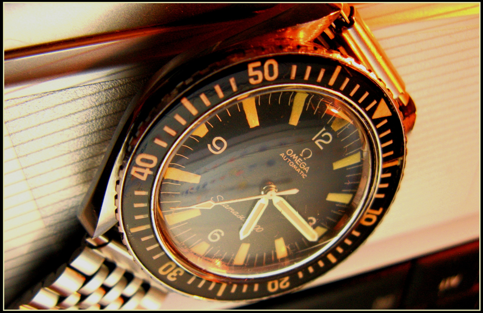 Vintage Omega Seamaster 300 by Philippines the beautiful