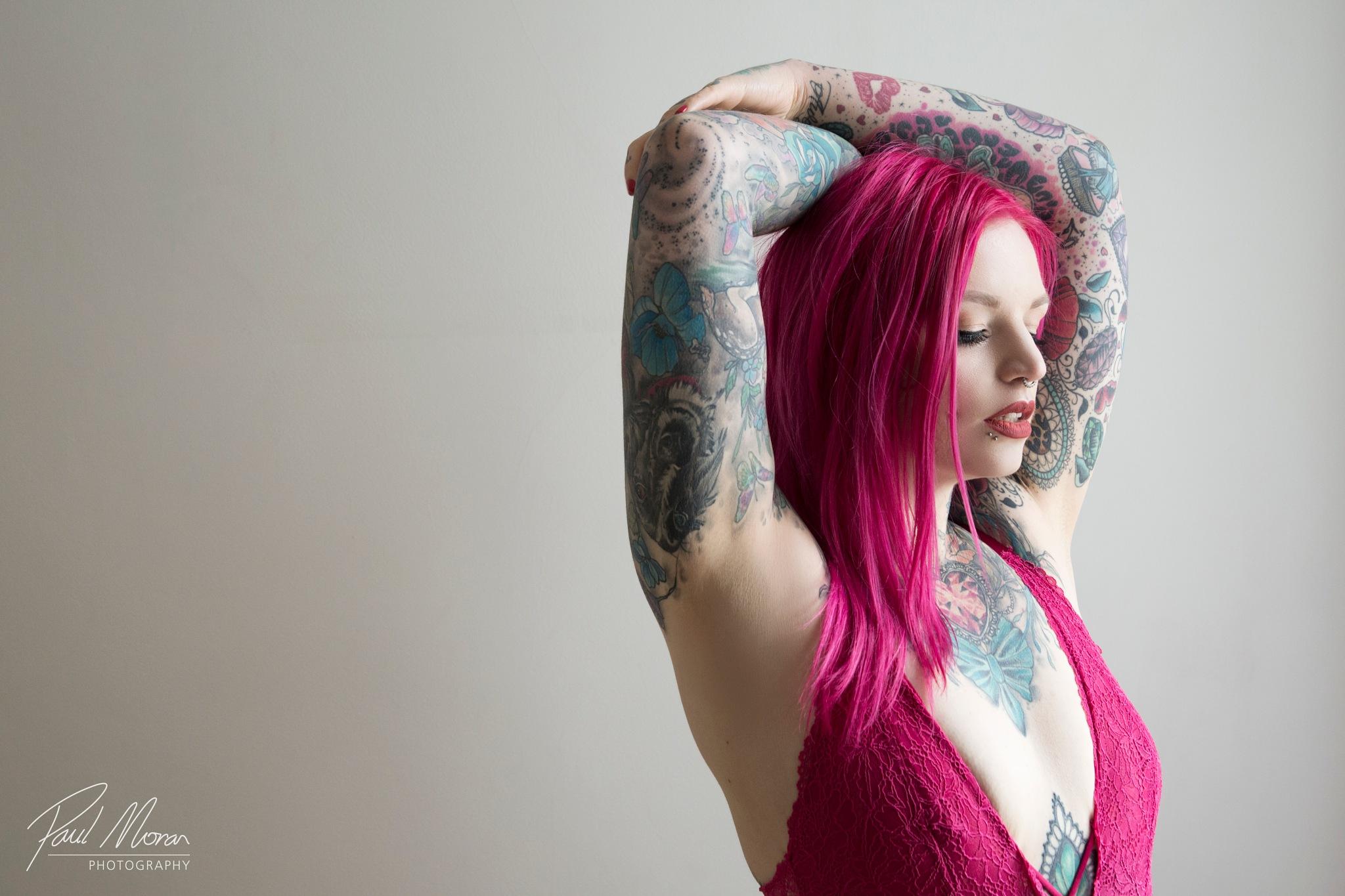 Tattoo model Alison Raven 07 by Paul Moran