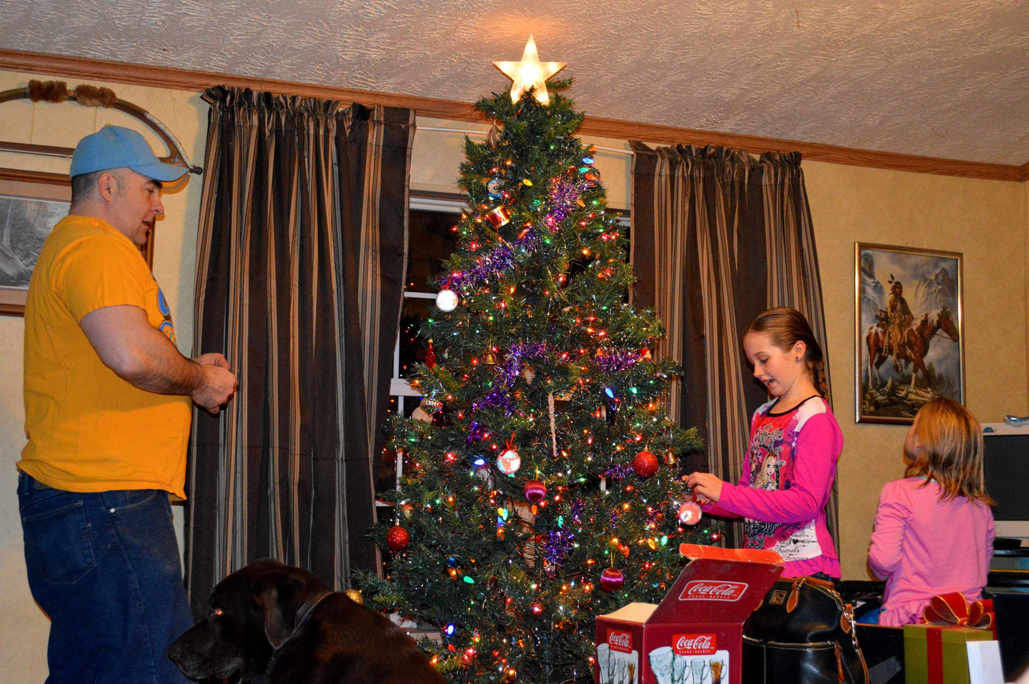 Decorating the tree by Lori21929