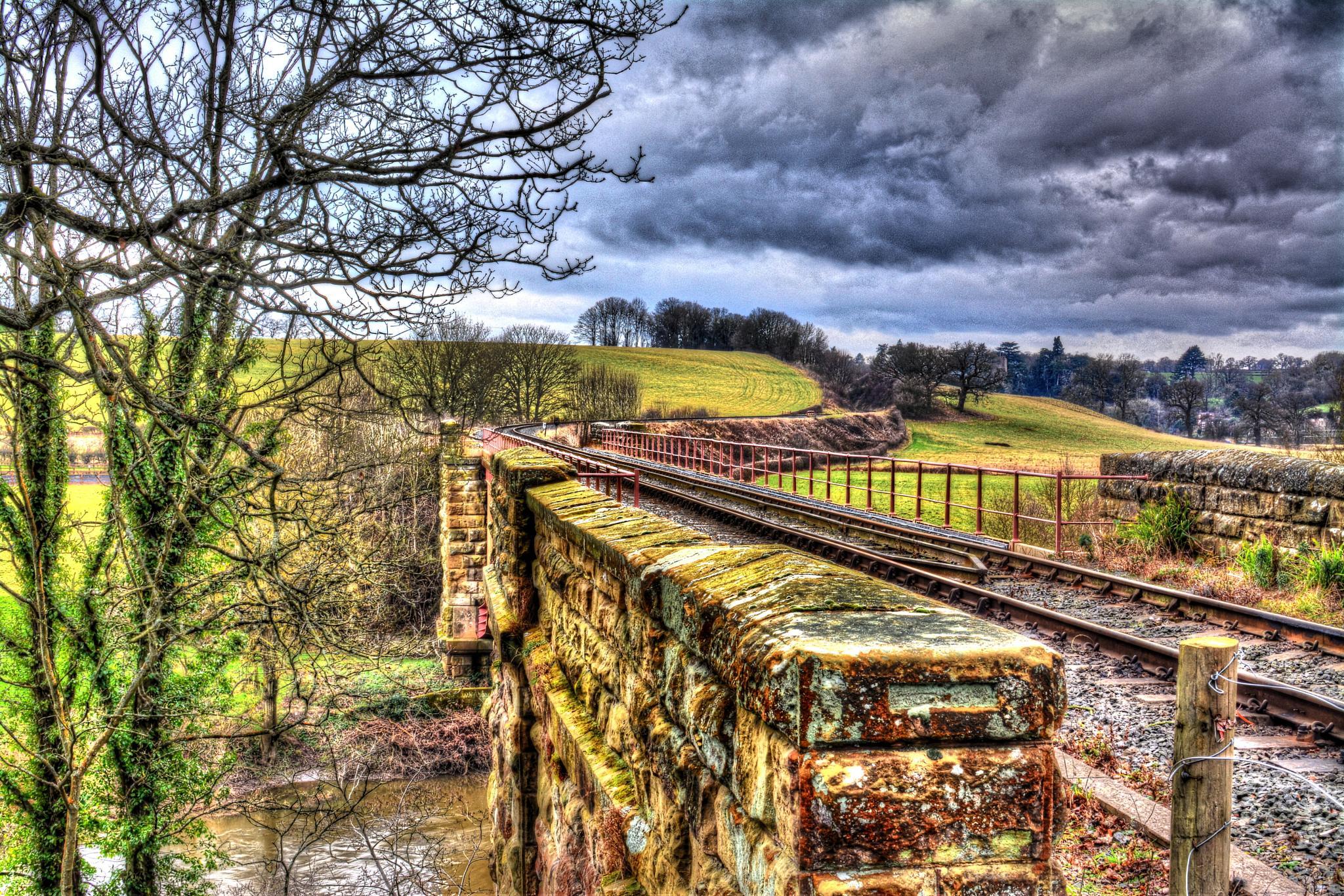 Arley bridge by Thunderchuckles
