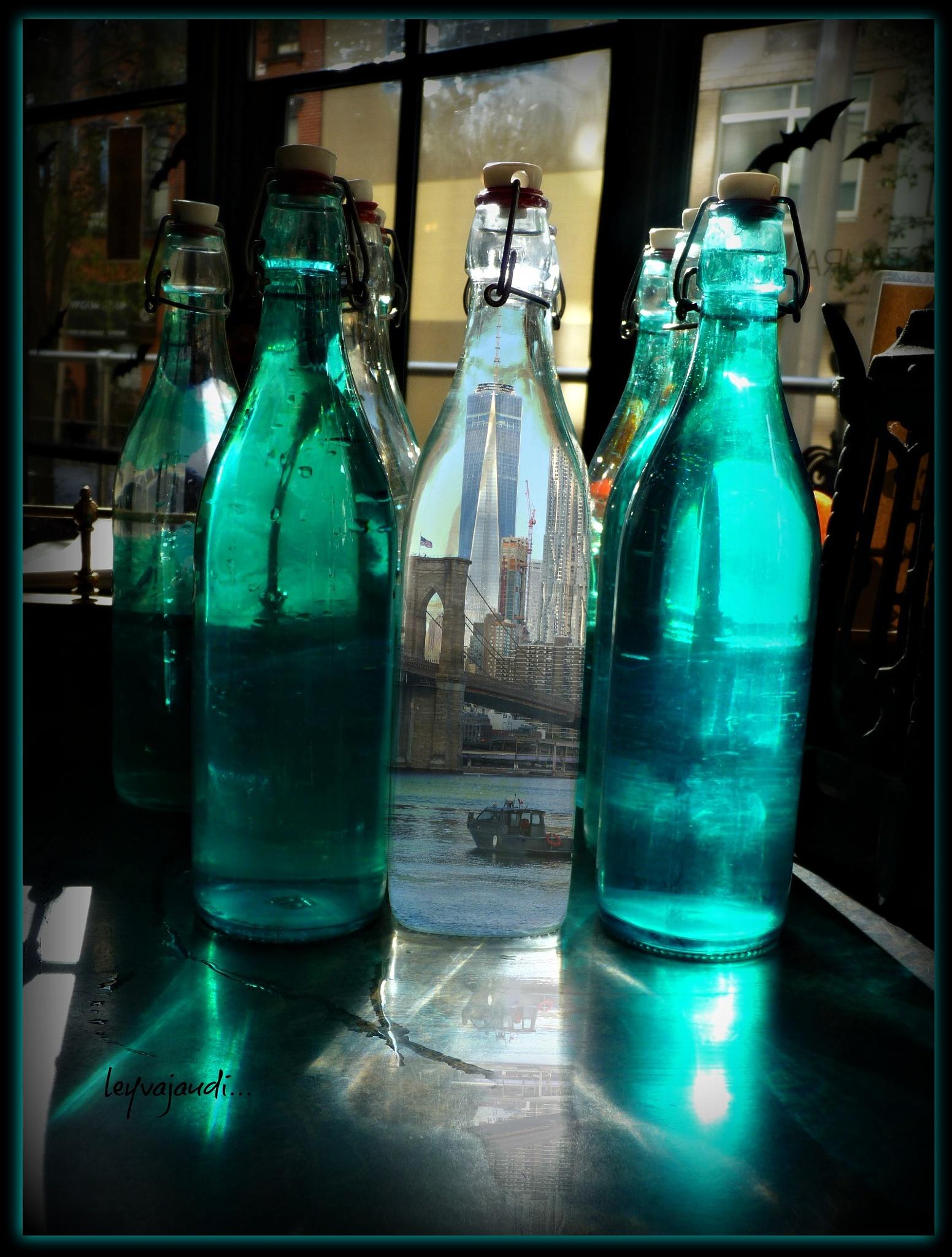 message in a bottle... by leyvajaudi