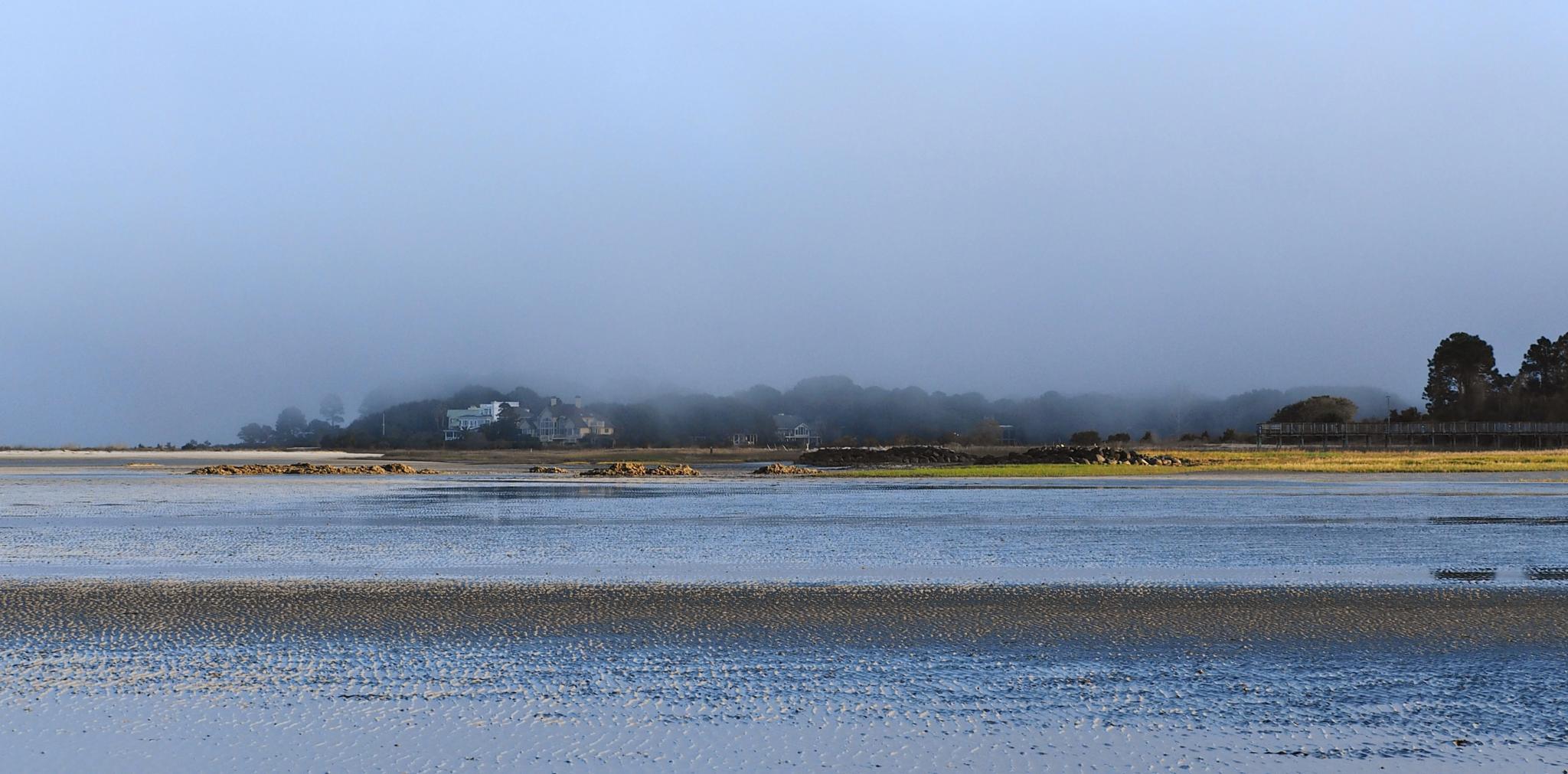 Foggy Evening at Fish Haul Creek Hilton Head by william.l.bosley