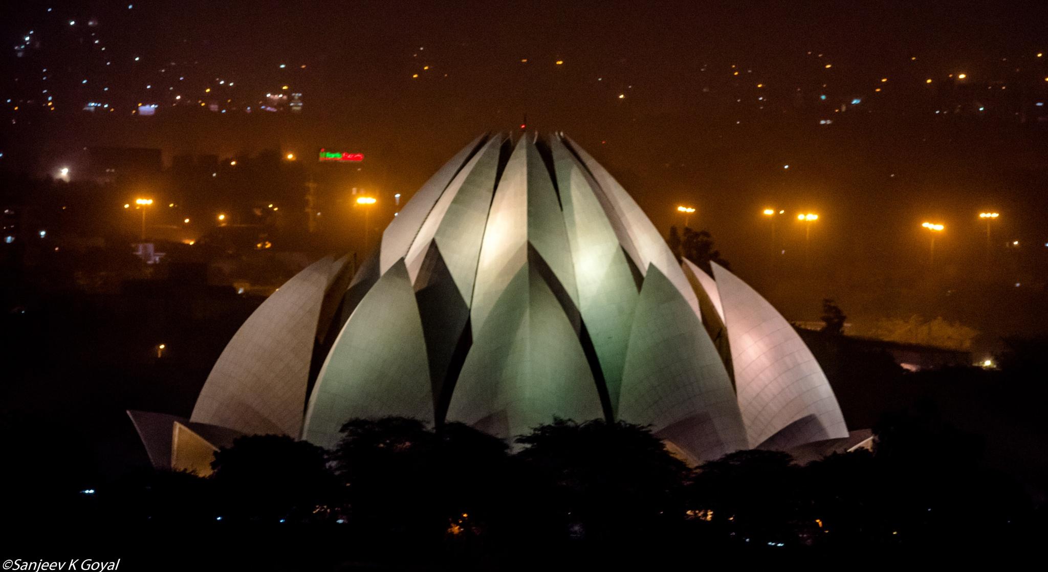 Lotus temple by sanjeev.k.goyal.10