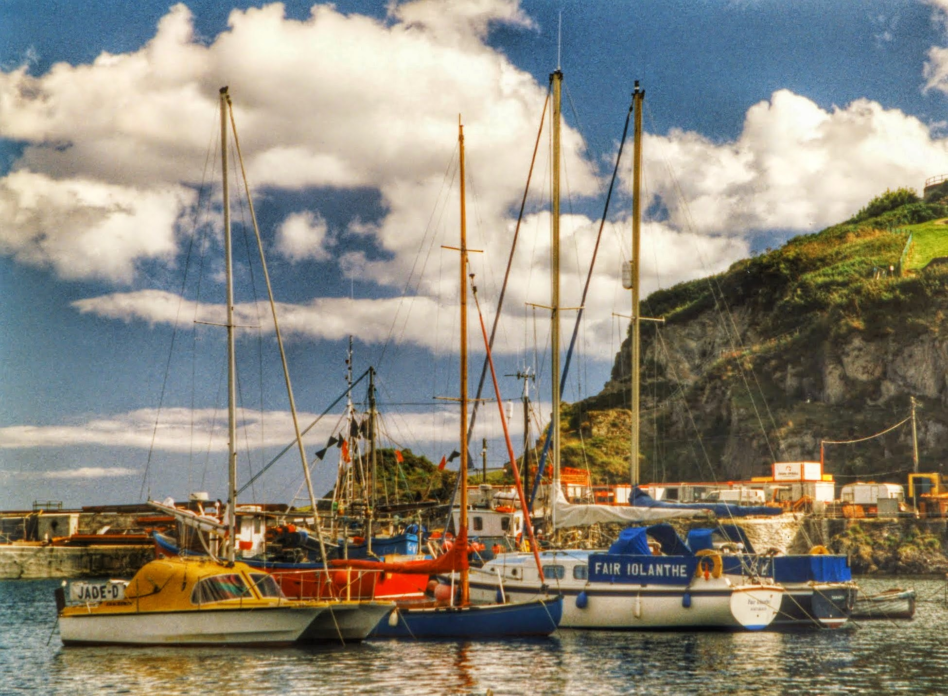 Mevagissey Harbour  by Clive Warr