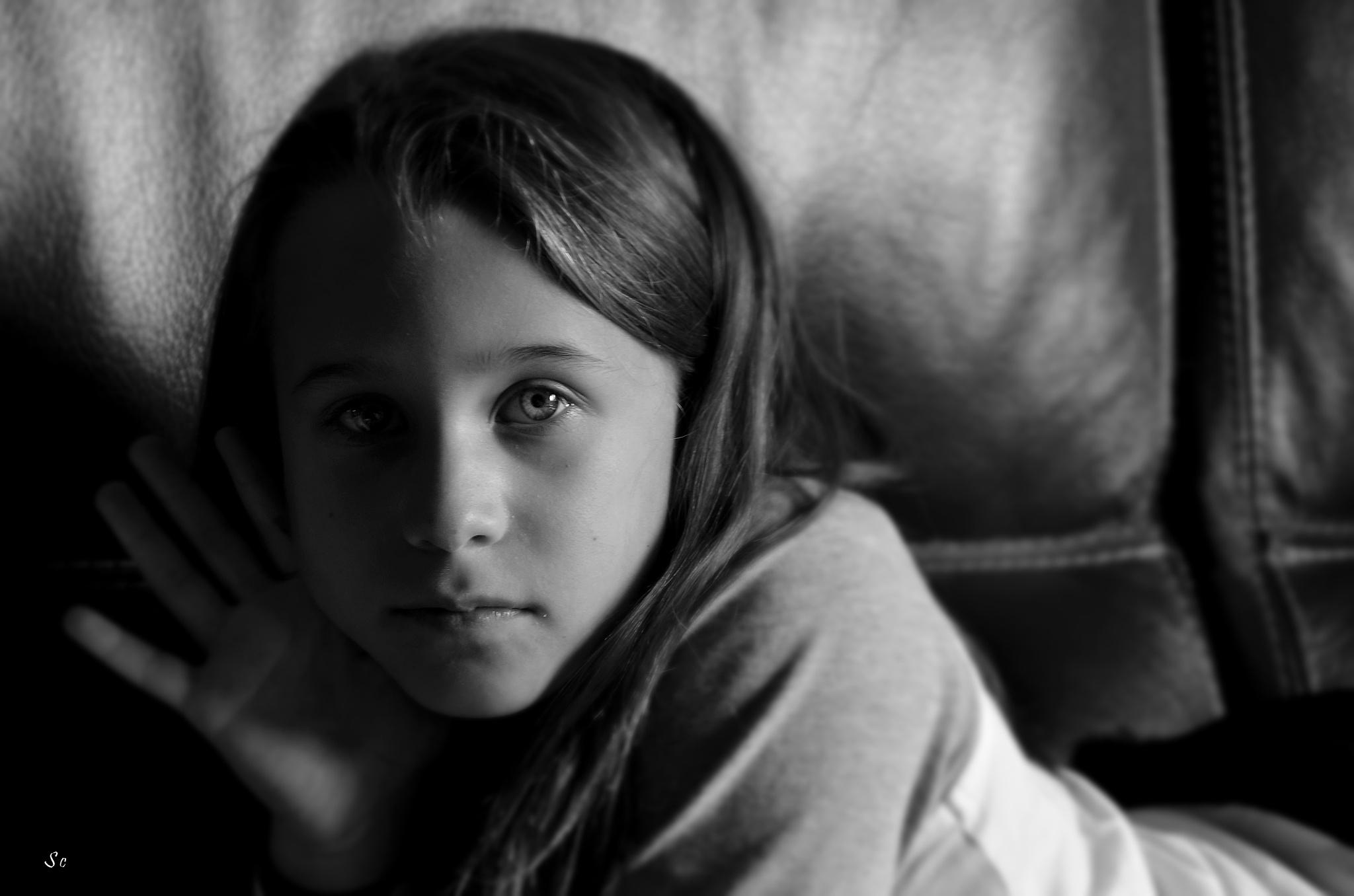 Portrait d'enfant by stan chris