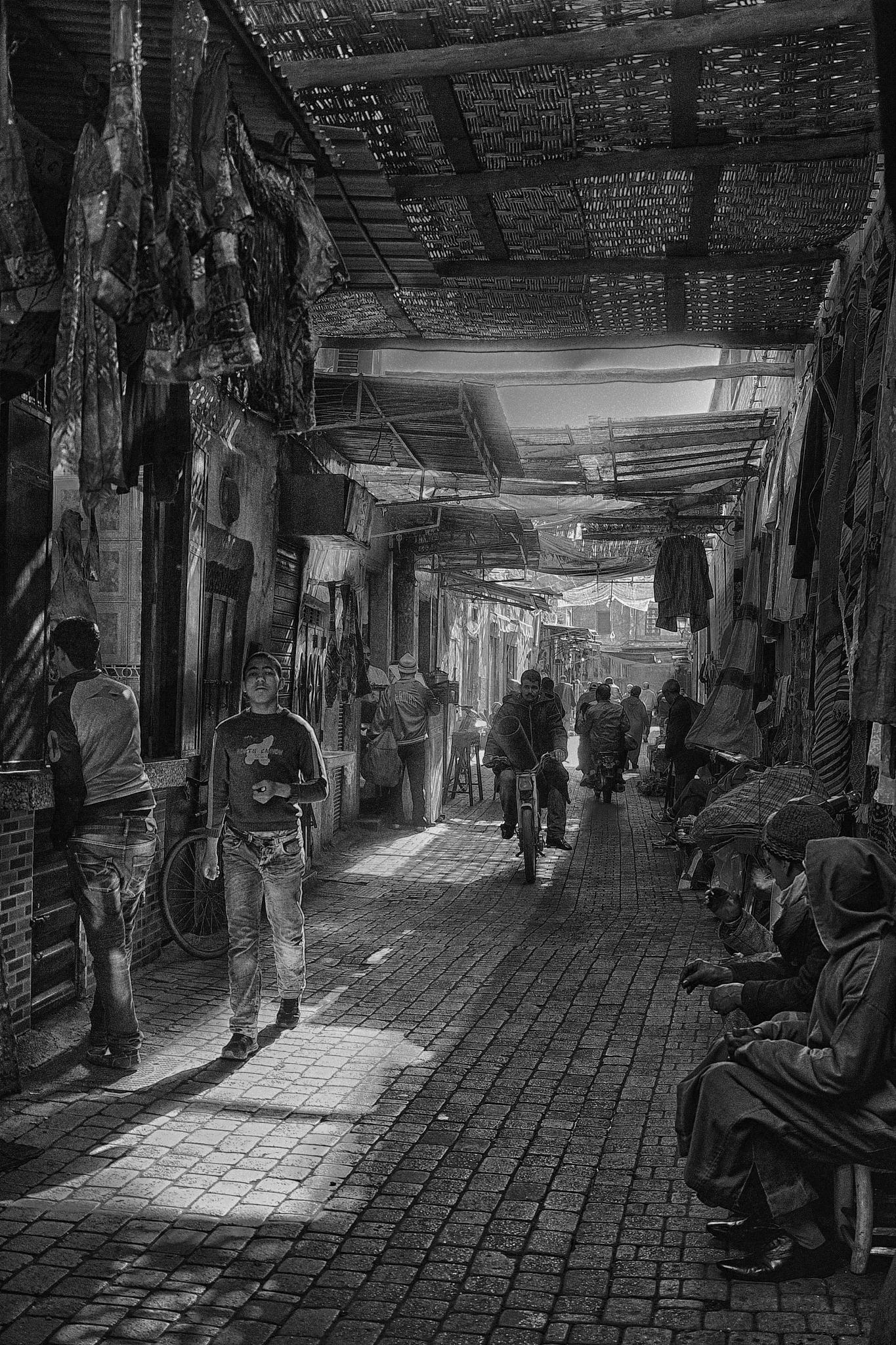 Street Life, Marrakech by navidqureshi