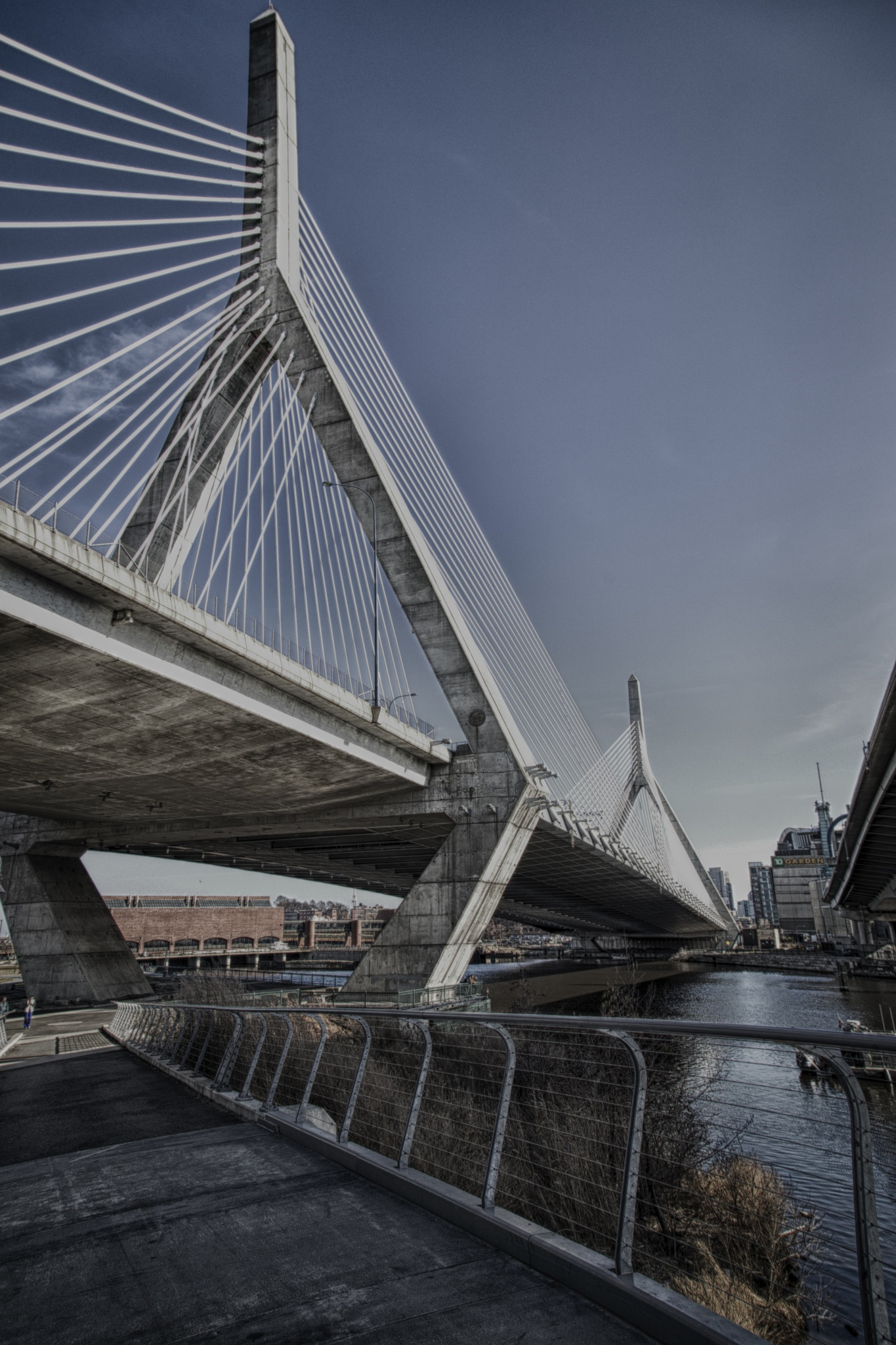 The Leonard P Zakim Bridge by stephen.venuto.1