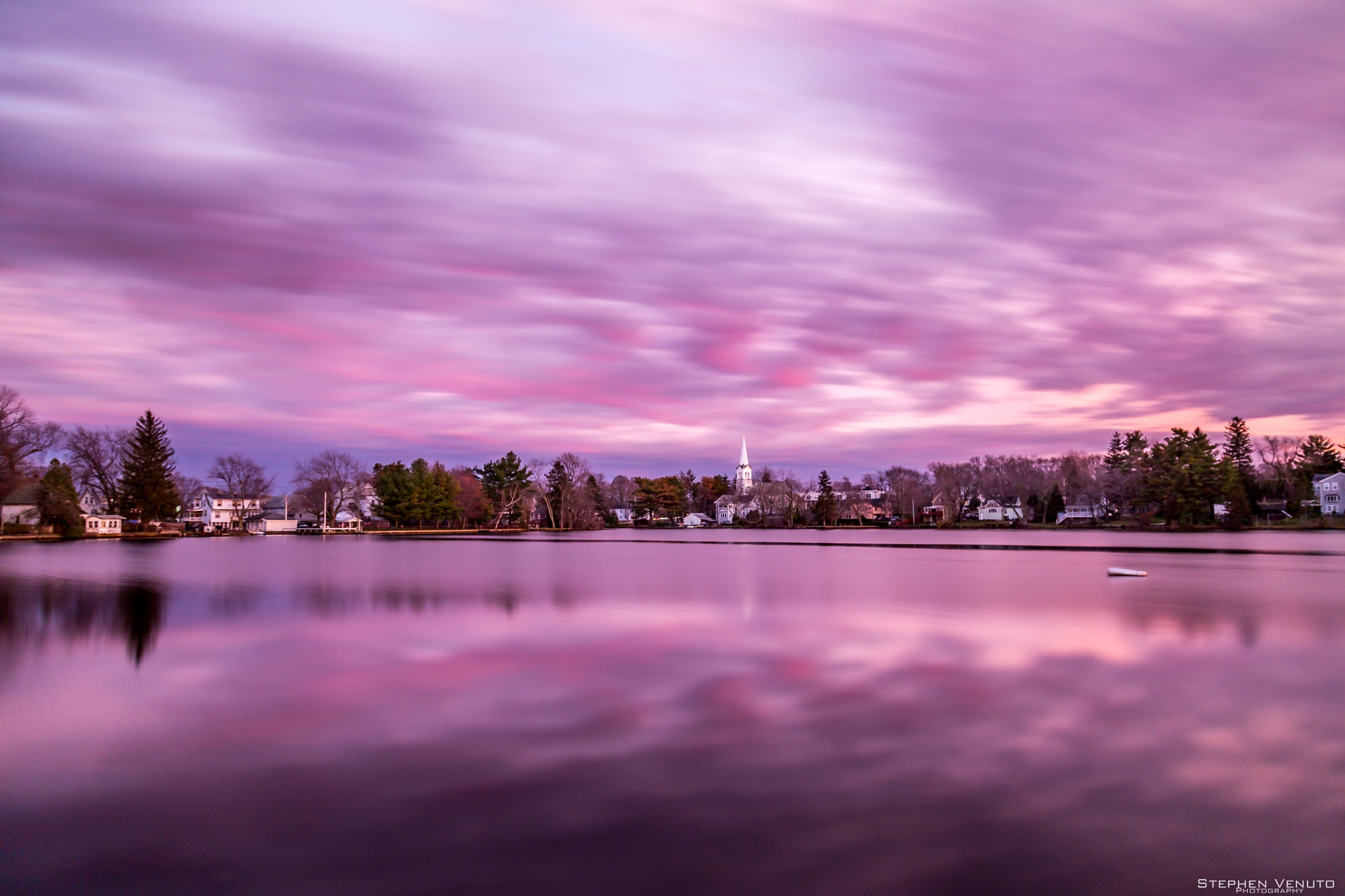 Purple sunset by stephen.venuto.1