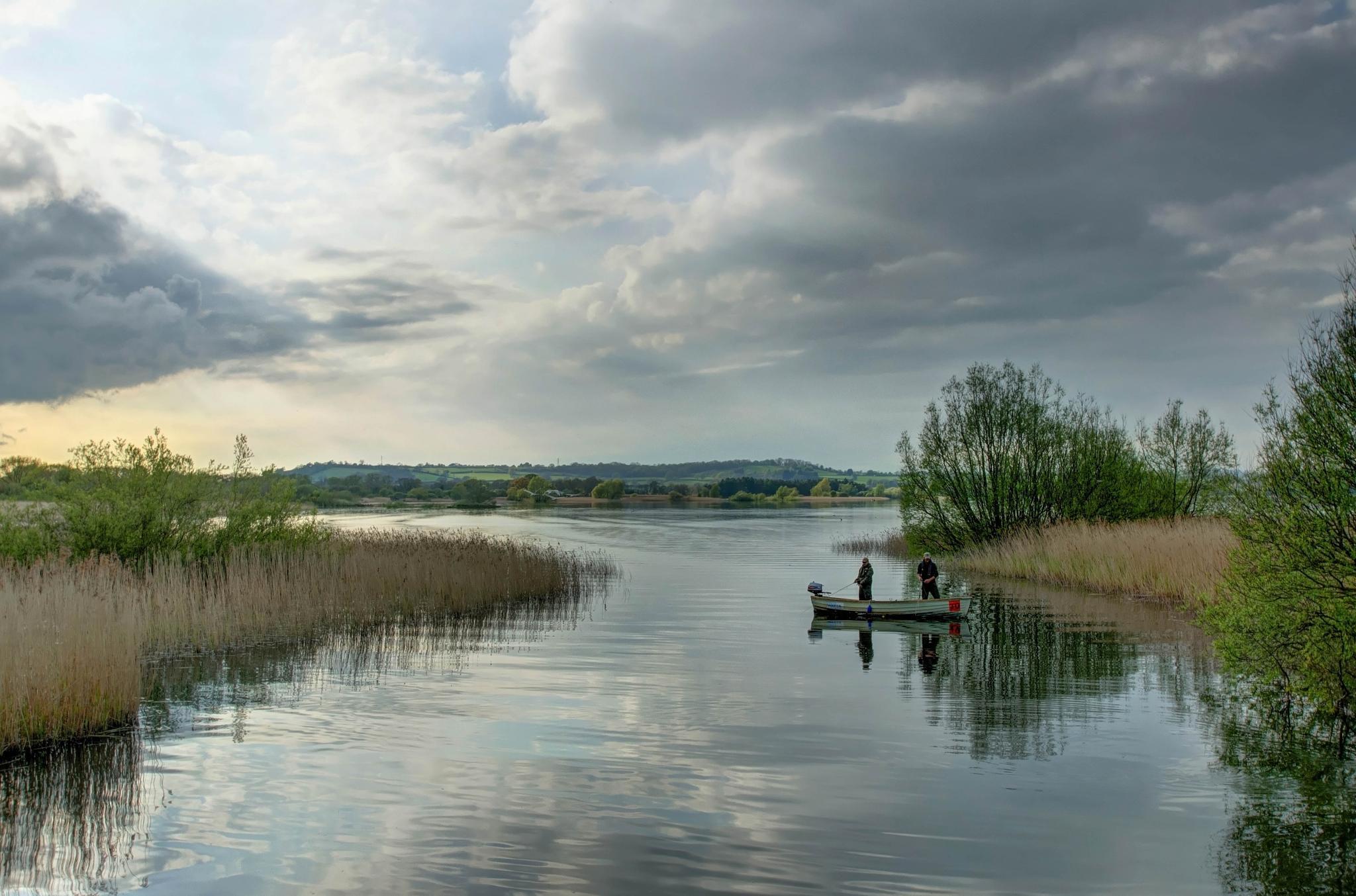 Fishing Chew Valley Lake by Tony Bridges