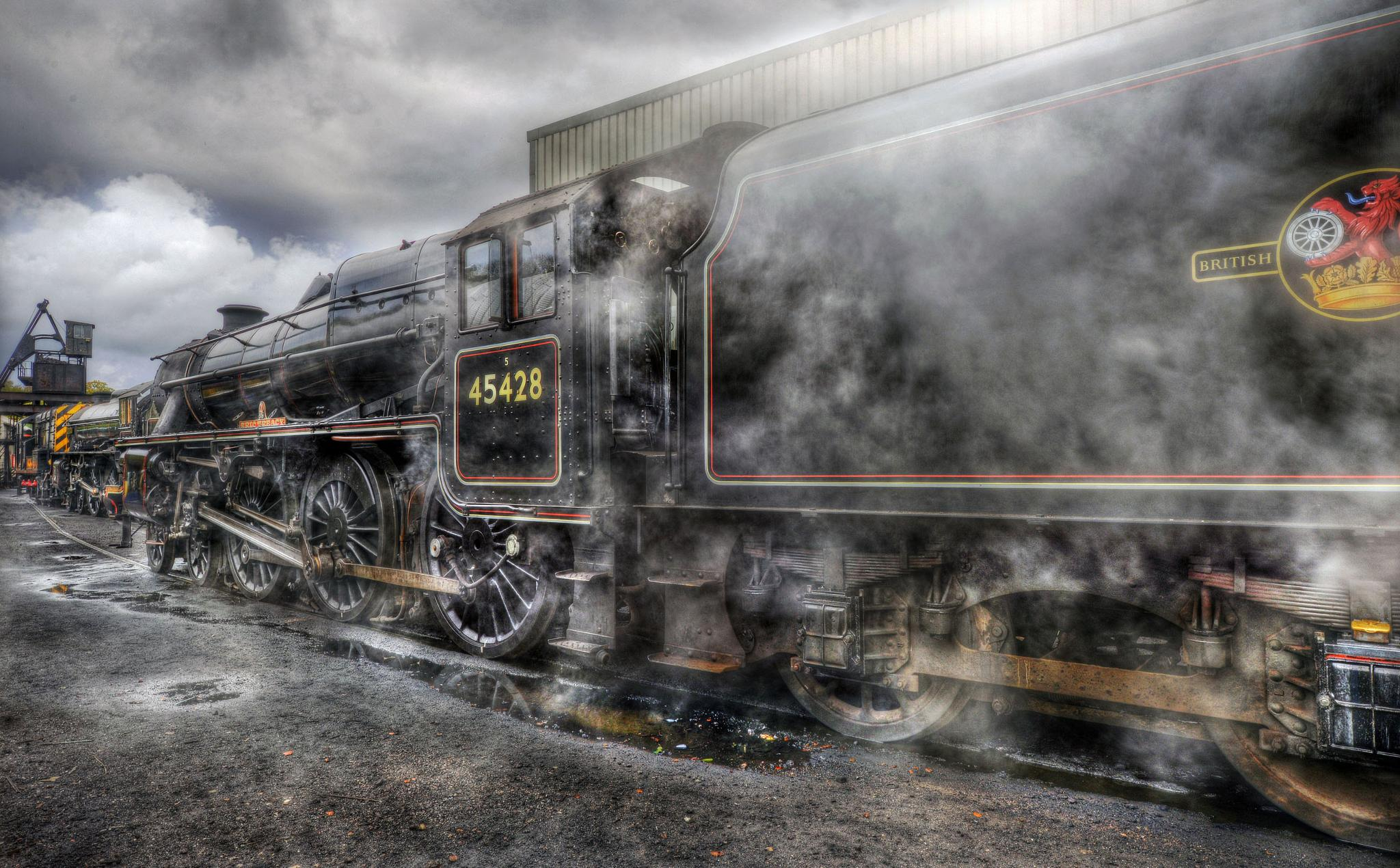 Steam and Smoke Dragon by SimonBull