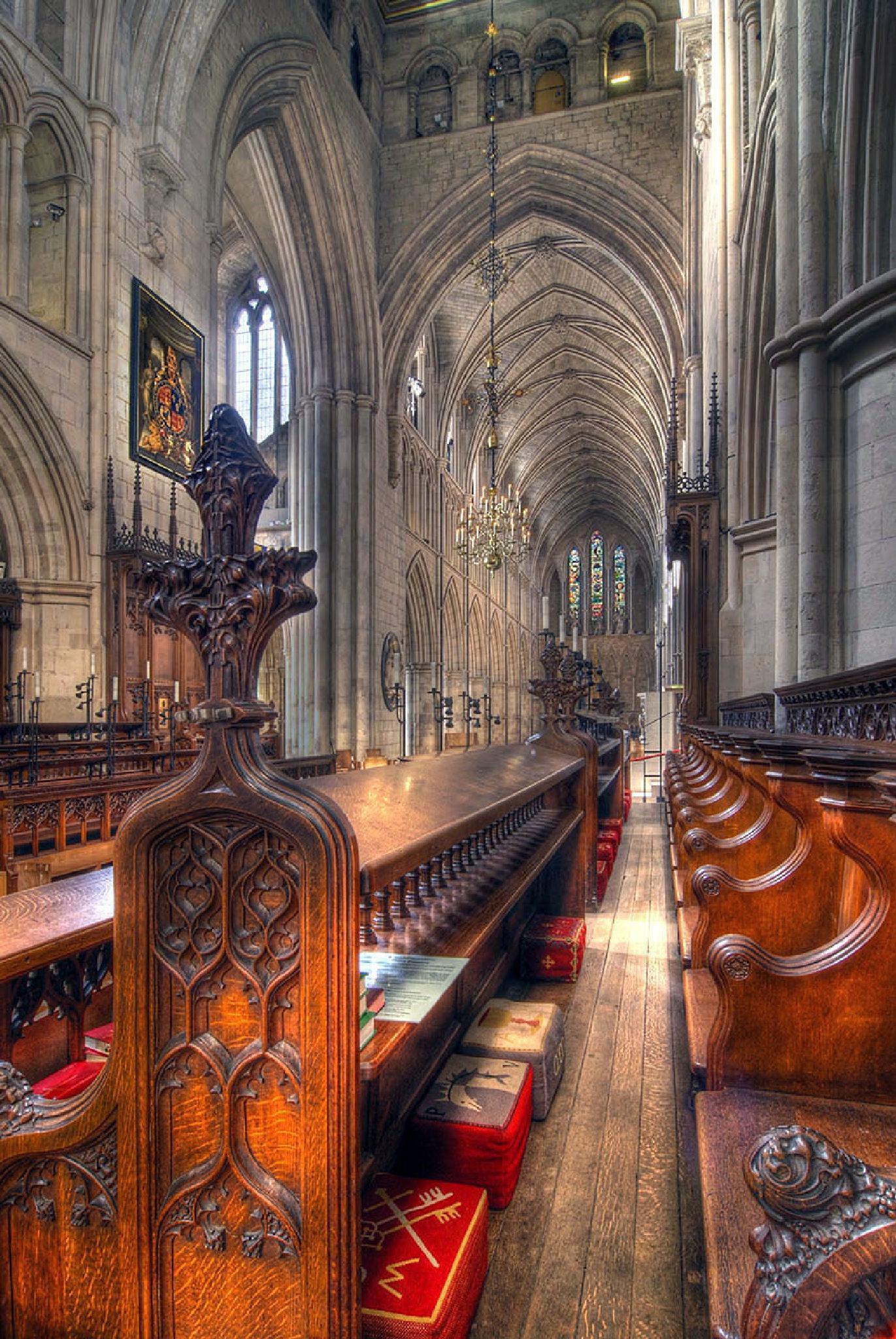 Choir Stalls by SimonBull