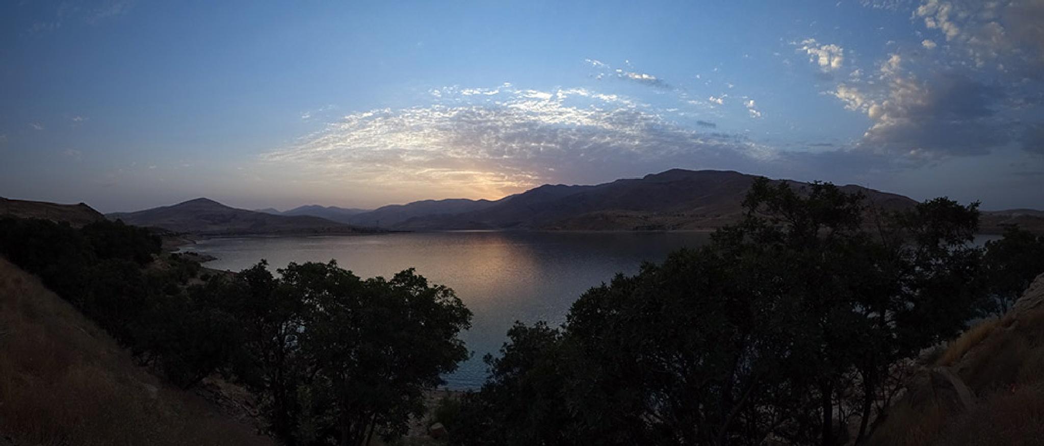 Mahabad Lake Panorama by Jamal -Kurdistan