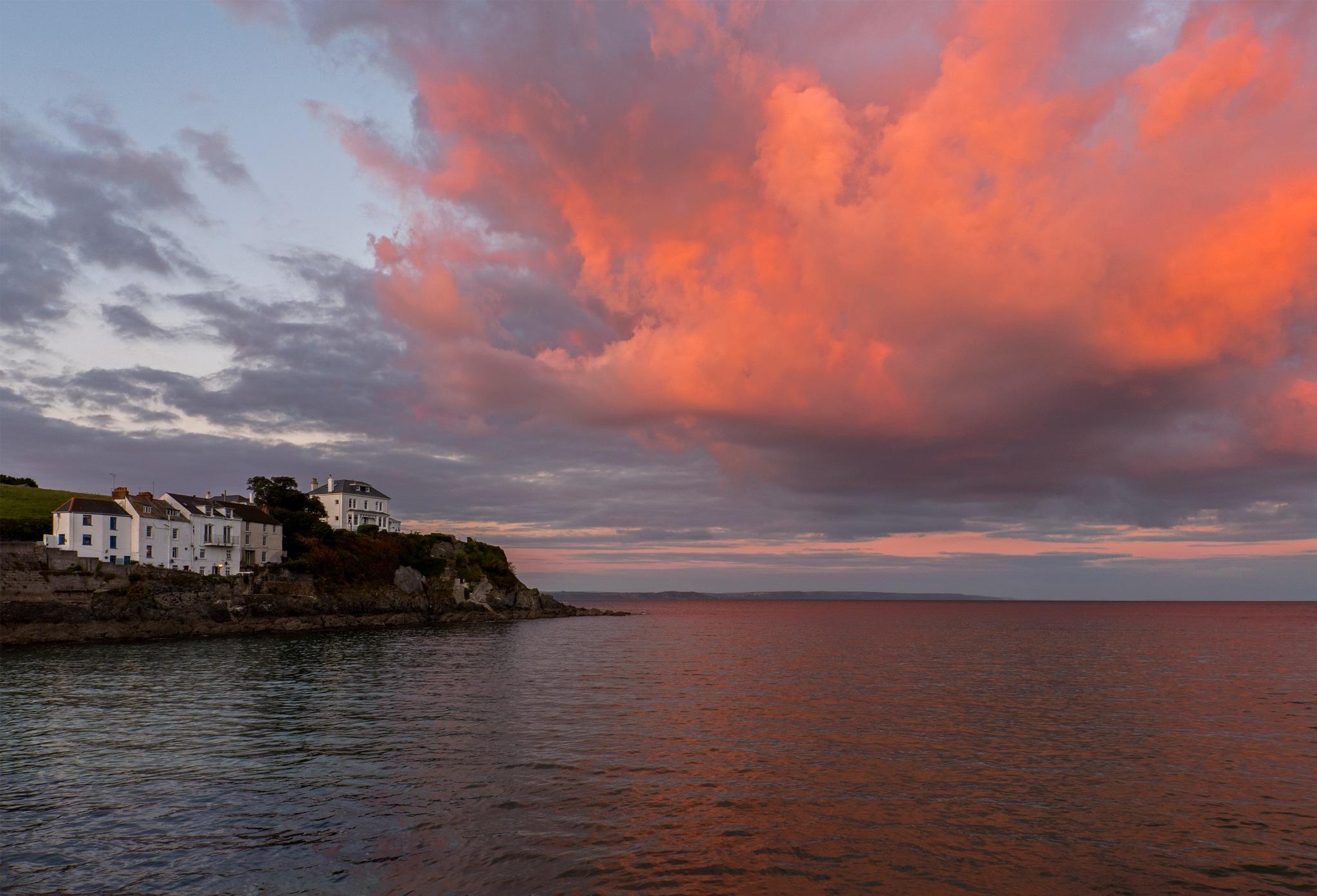 Cornish Sunset by John See