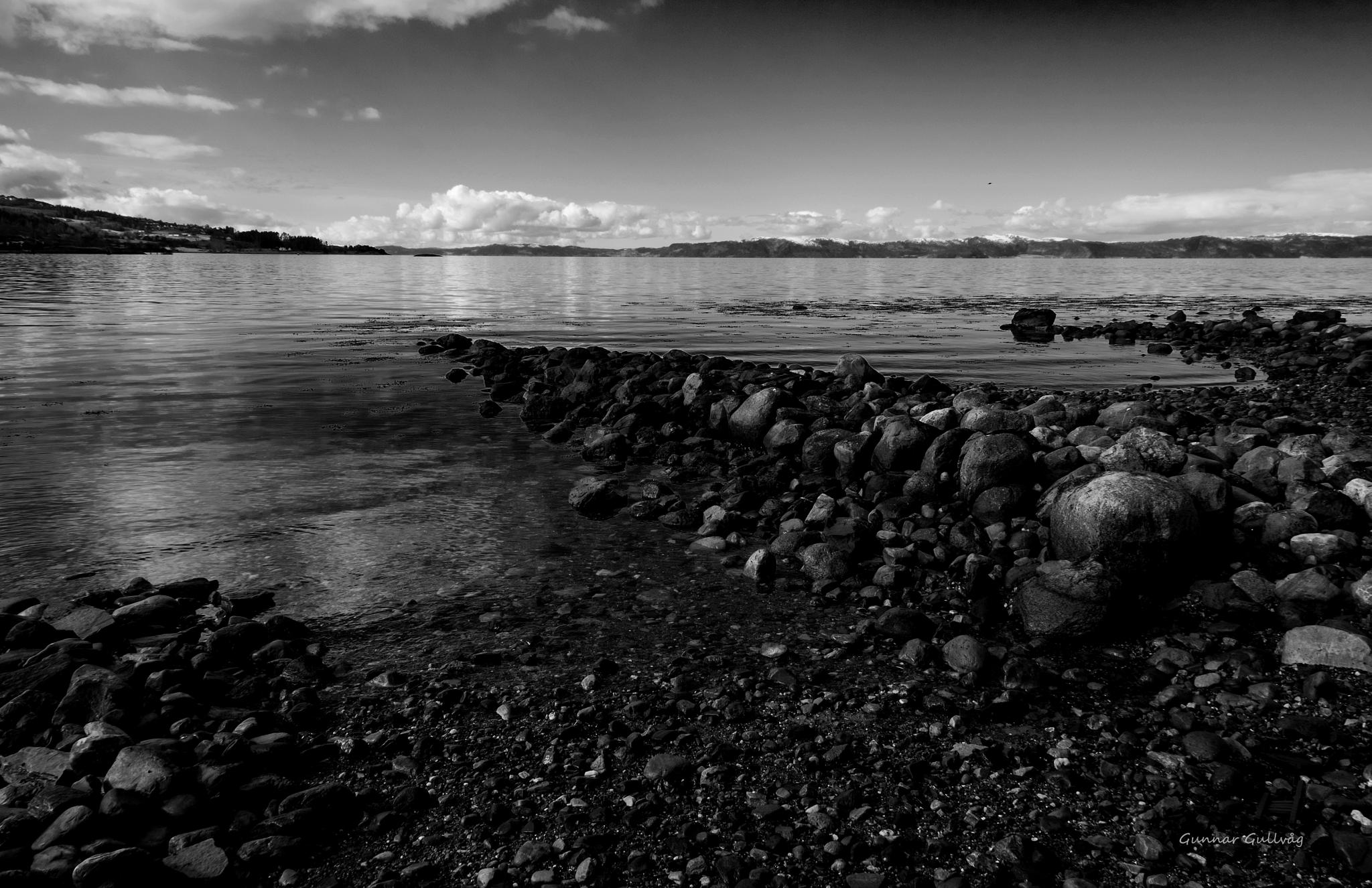 Stony Beach by ggullvag