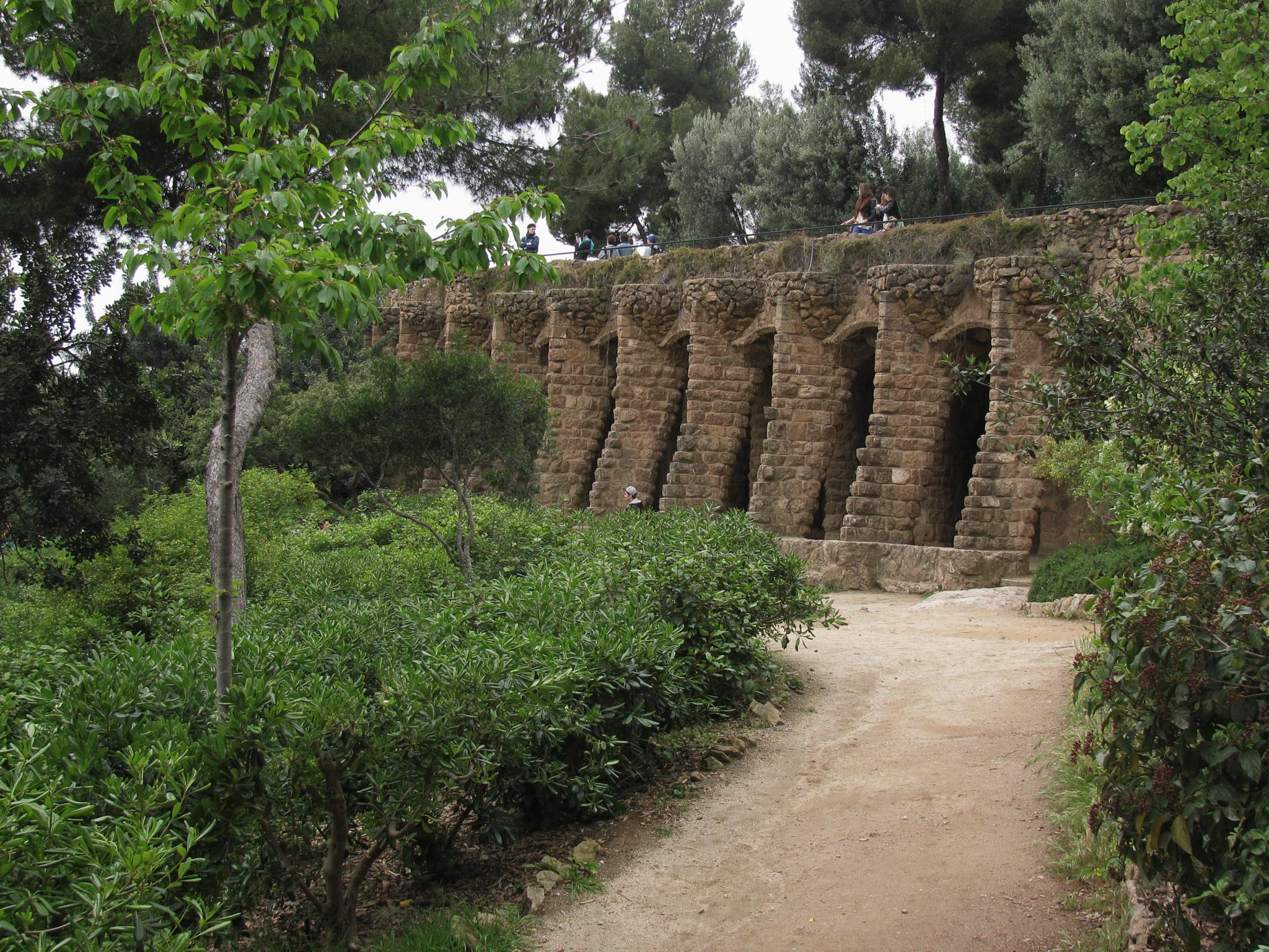 Park Guell by freakbrother