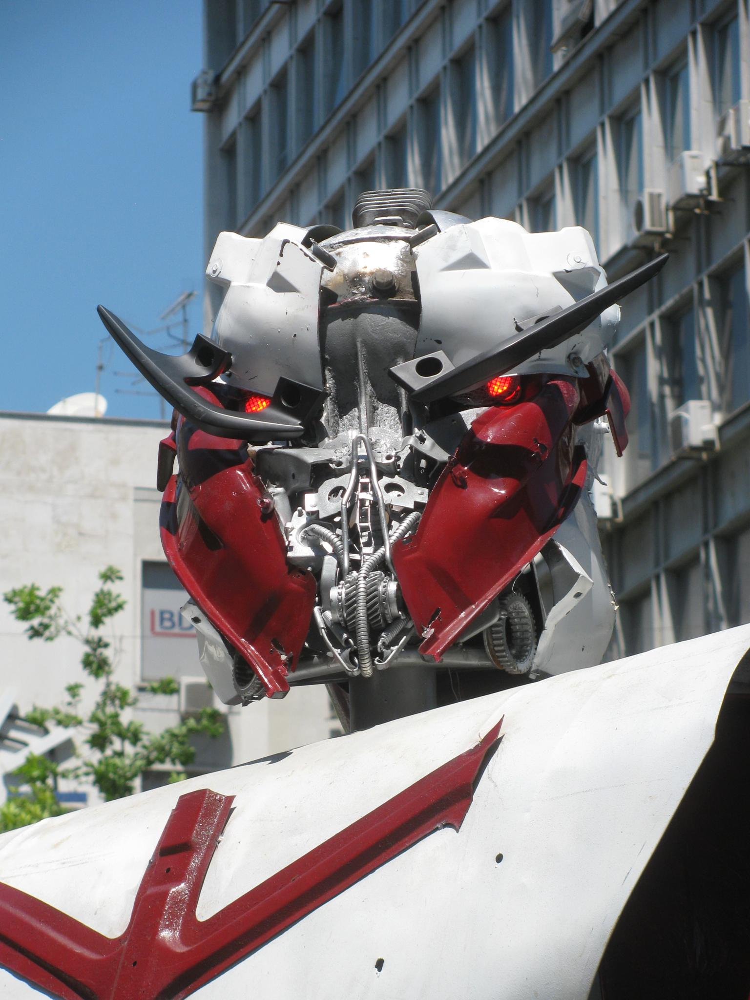 Transformers in Belgrade 7 by freakbrother