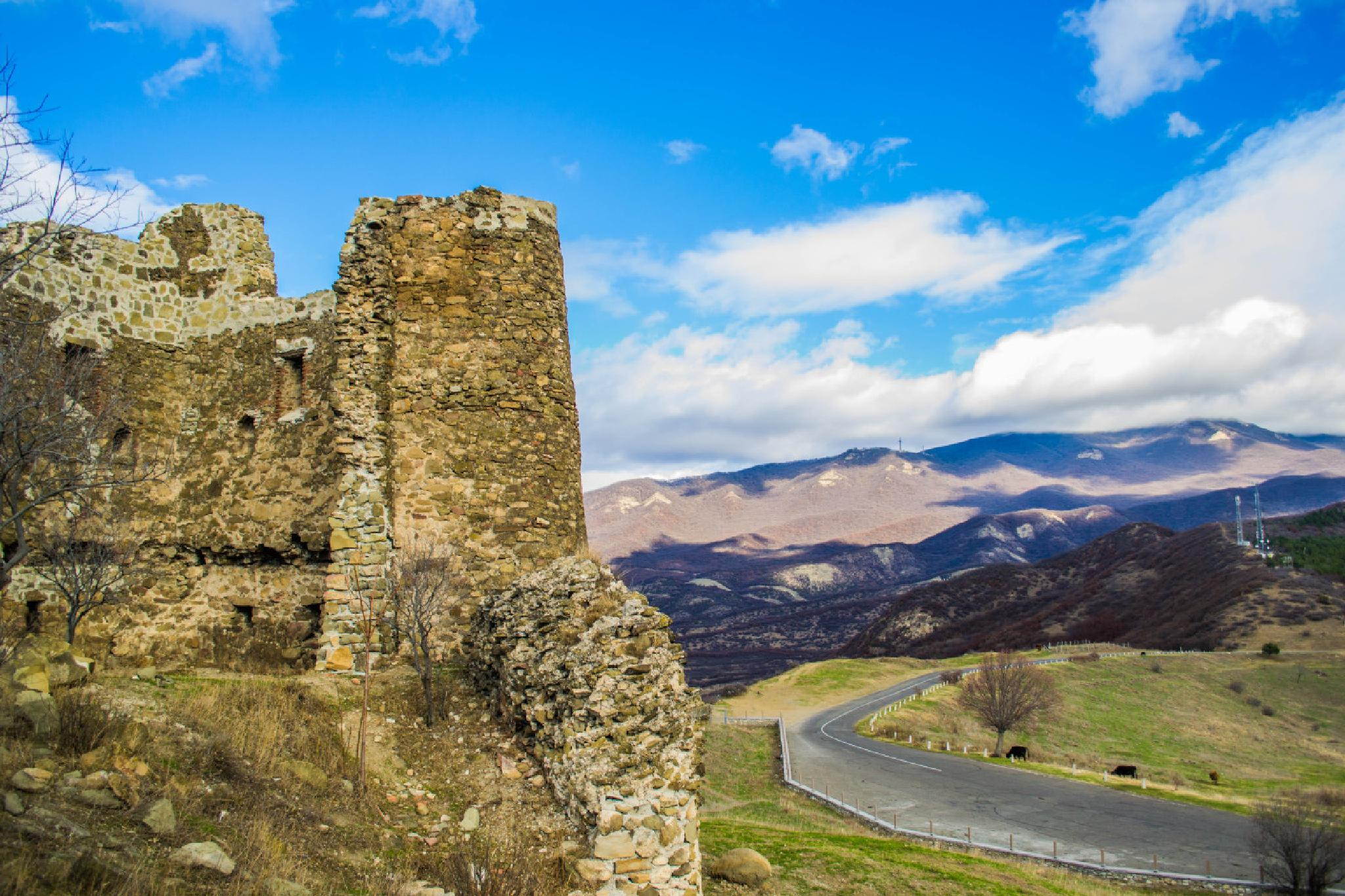 Monastery Walls by Ihor Hlubochenko