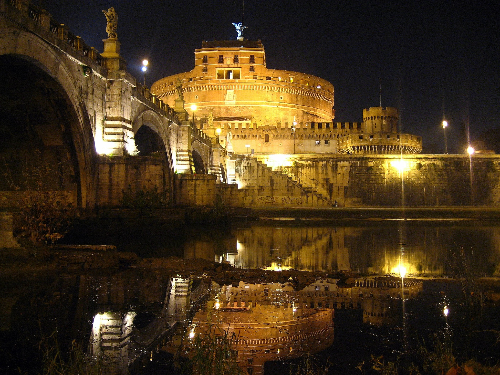 CASTEL S.ANGELO by biafrano1960