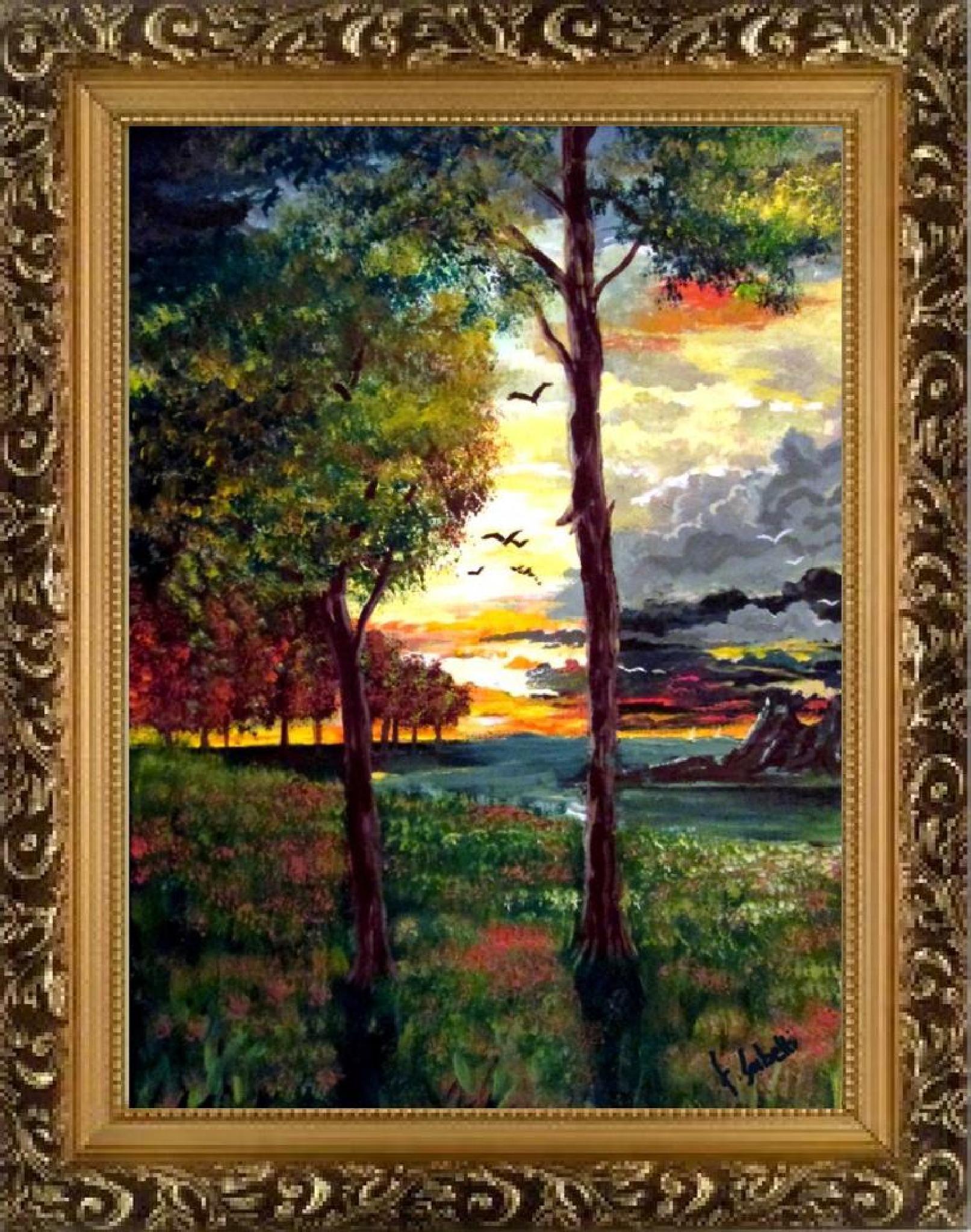 tramonto ( 35x50 ) by biafrano1960