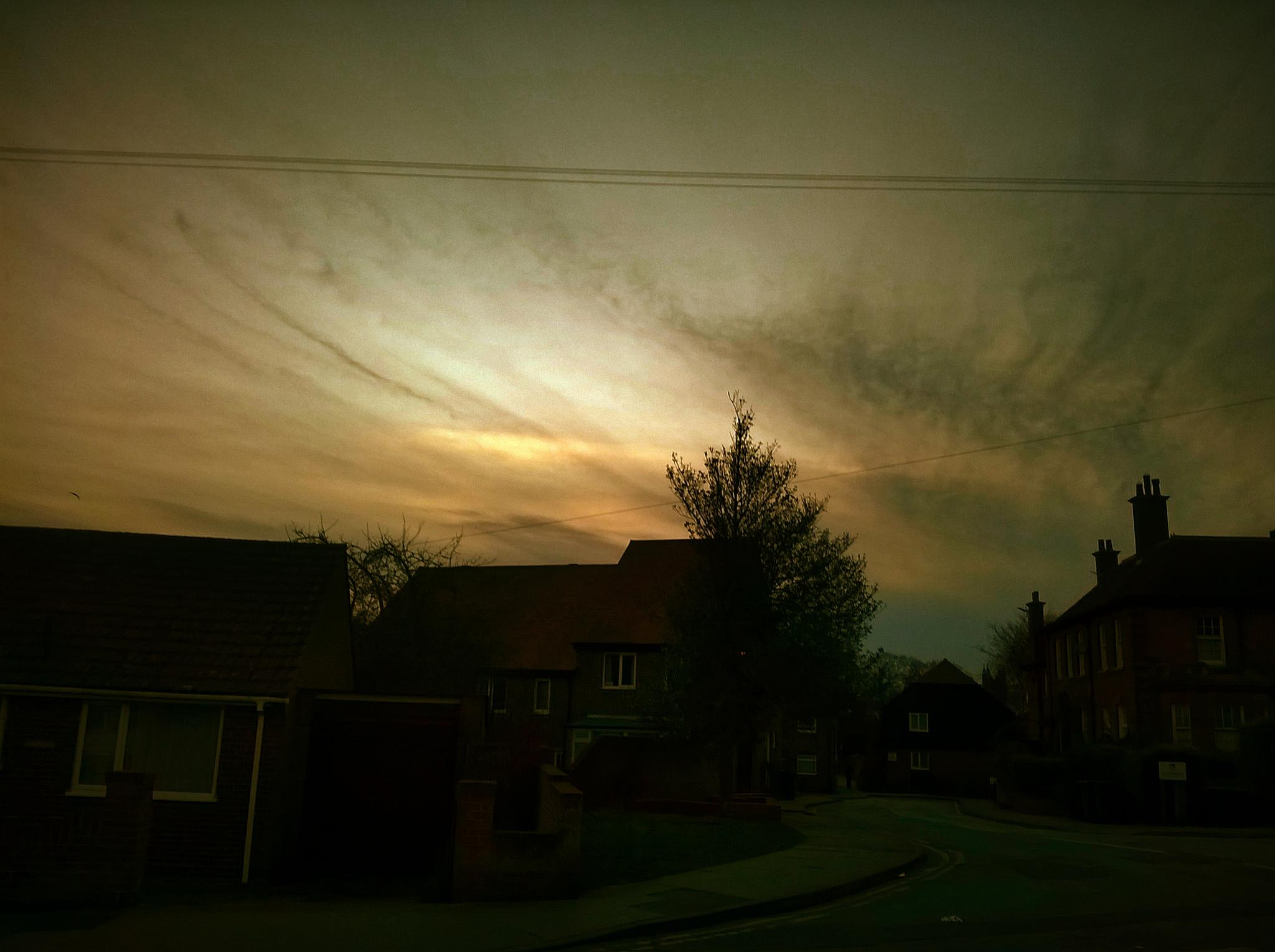 Evening Sky by gemma smith
