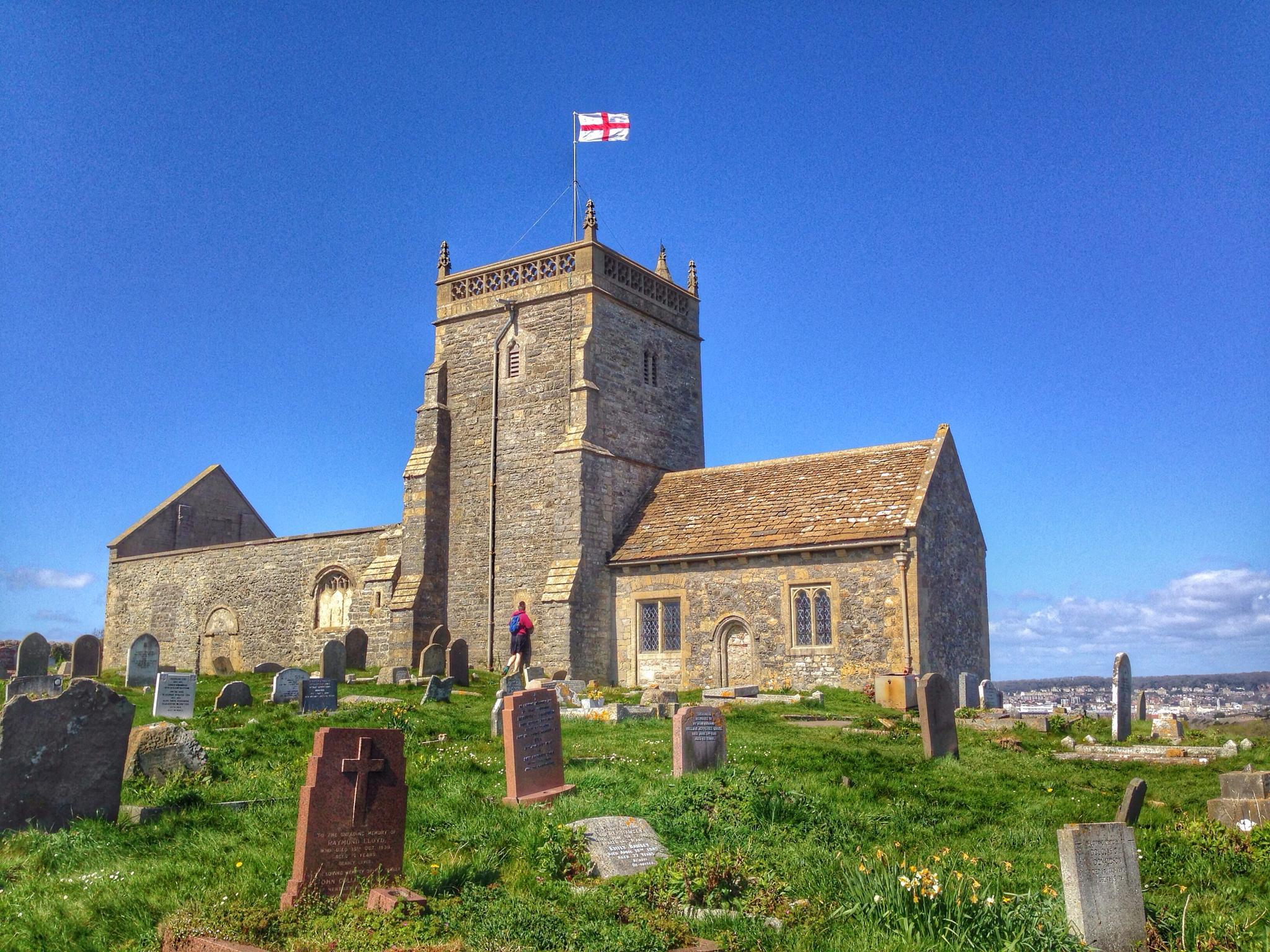 Uphill church  by debi.Moss.3