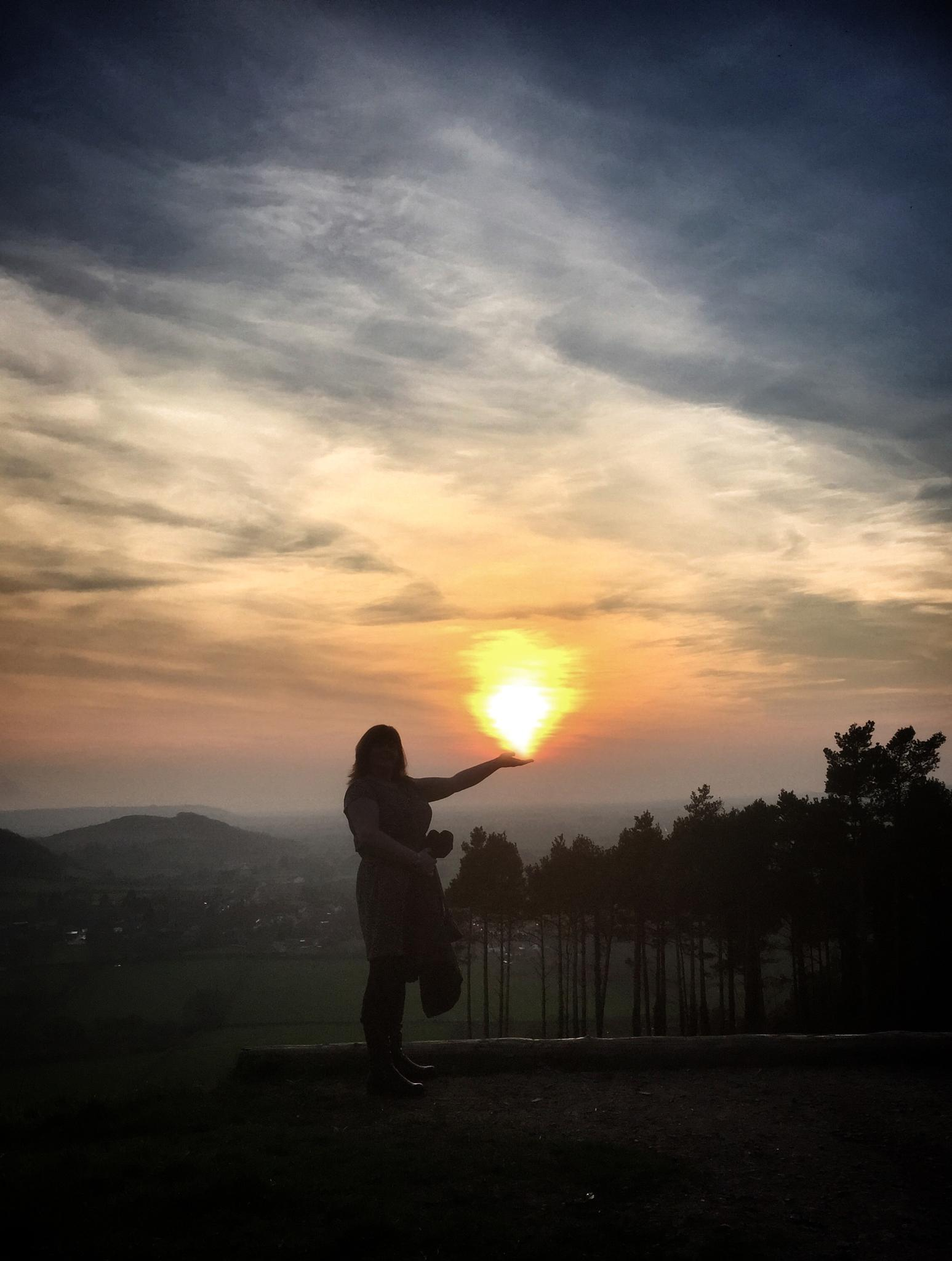 Flaming sunset  by debi.Moss.3