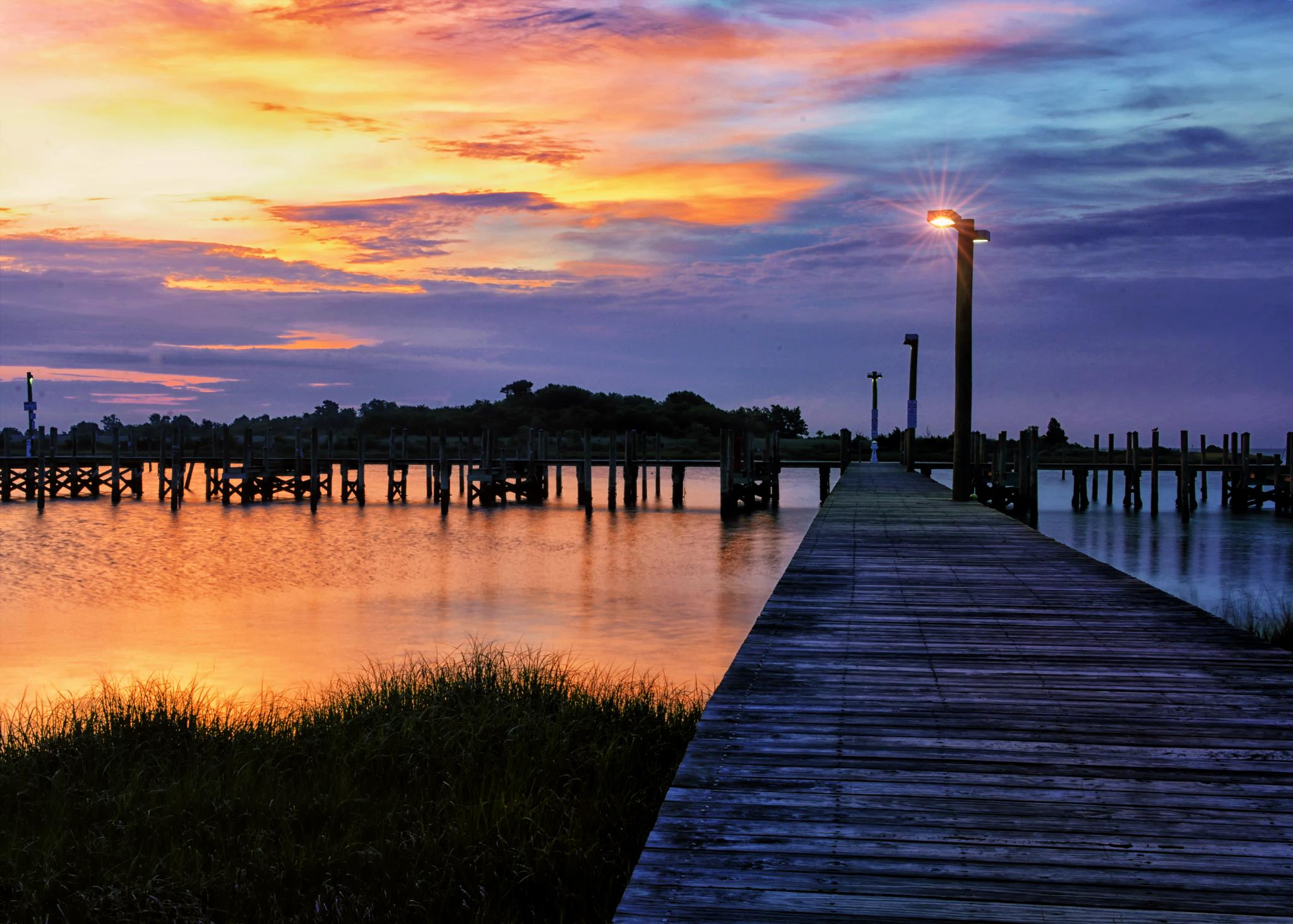 Morning at the Point by James Gramm