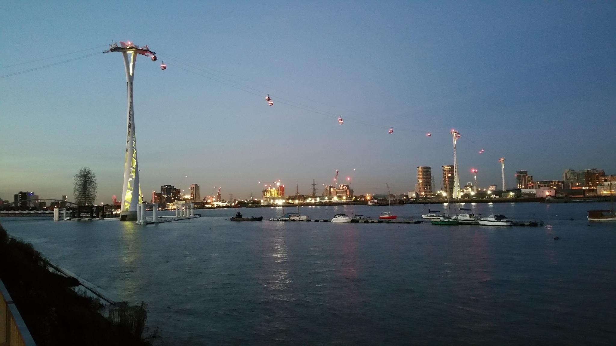 Emirates Greenwich Peninsula by MarioCalin