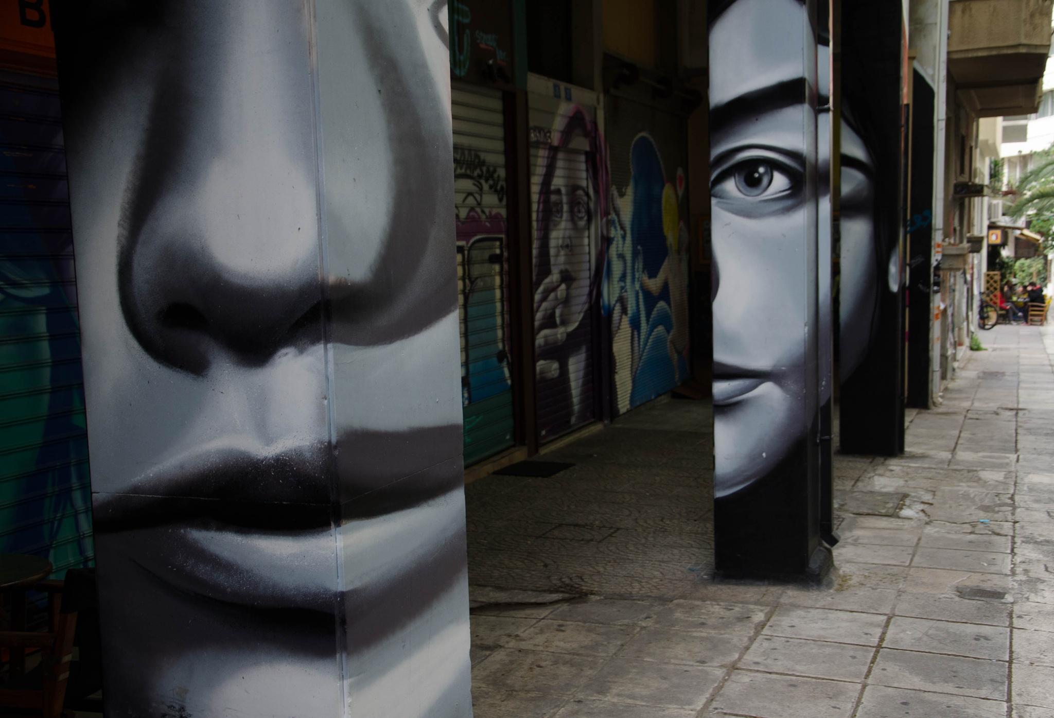 broken faces 2016 by yiannis.lazaris