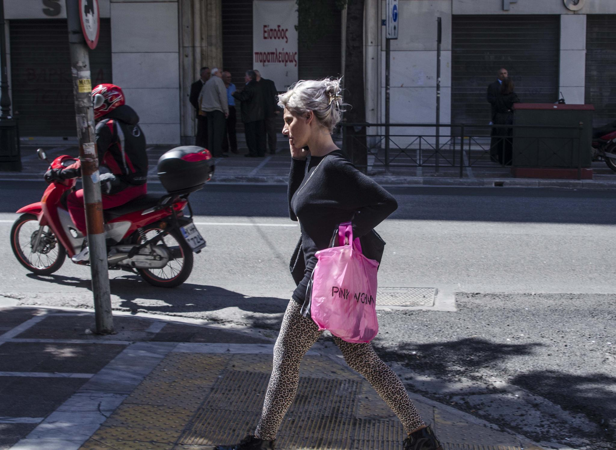 pink woman 2014 by yiannis.lazaris