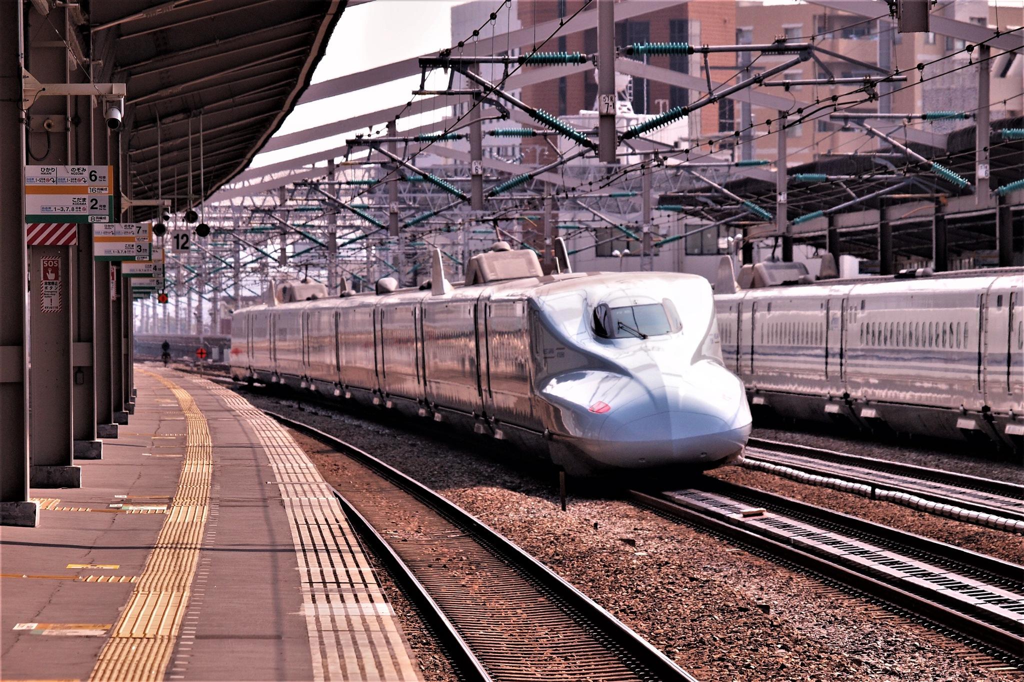 Kyushu Shinkansen N 700 - 7000 type by SANRI
