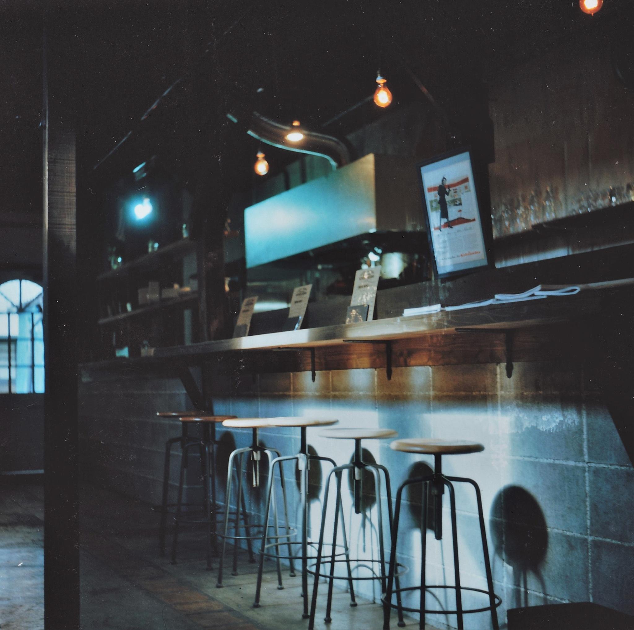 Photo in Film #keizo cafe #chair #spot #rolleicord #rollei #film #kyoto #sanjyo #twin-lens reflex