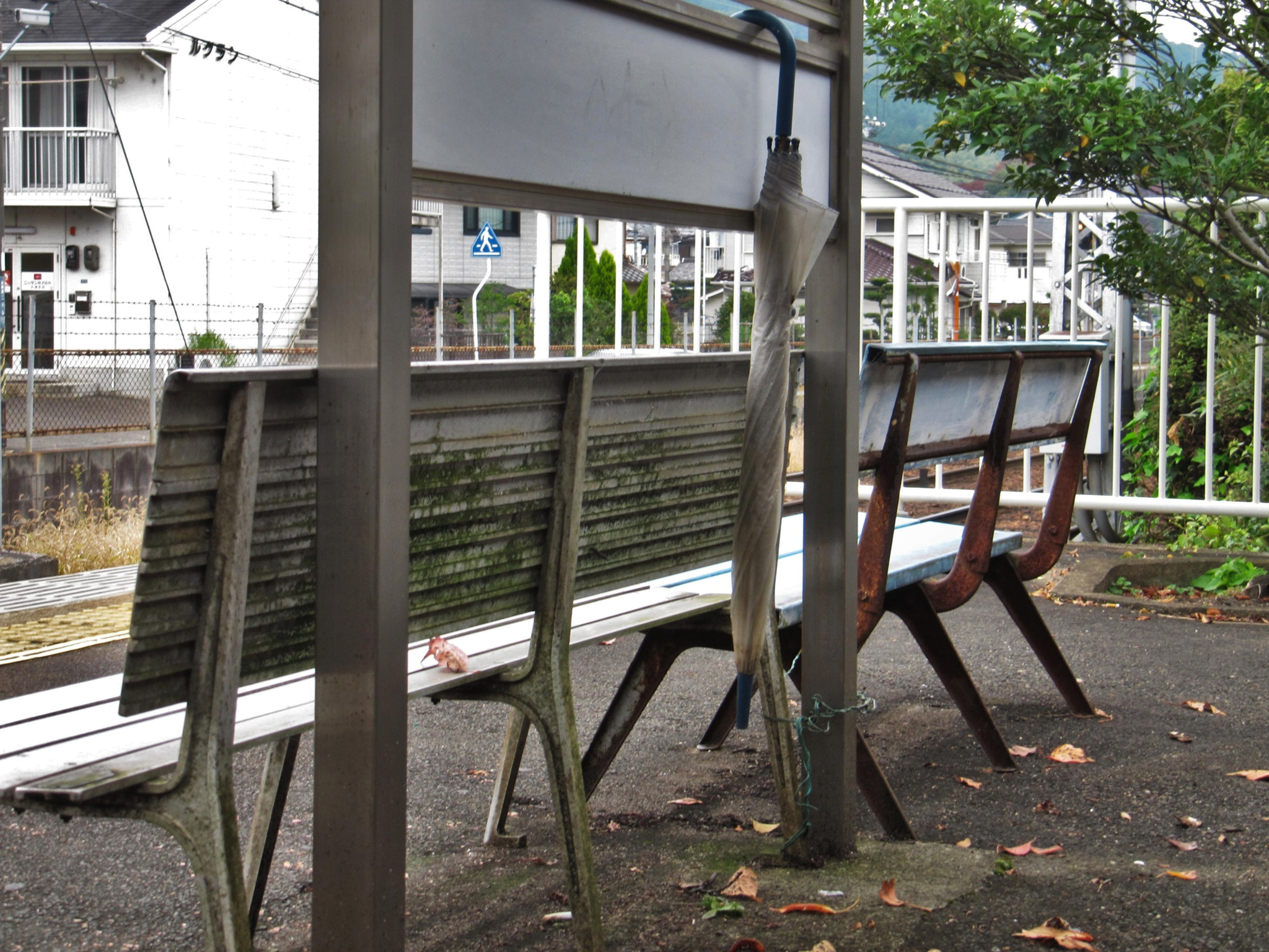 Secretly forgotten umbrella by SANRI