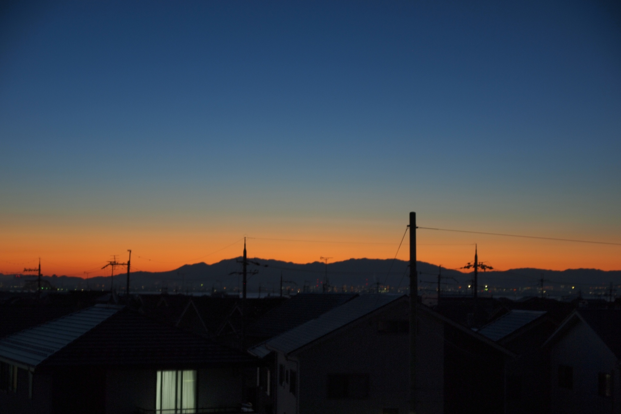 Early morning of gradation by SANRI
