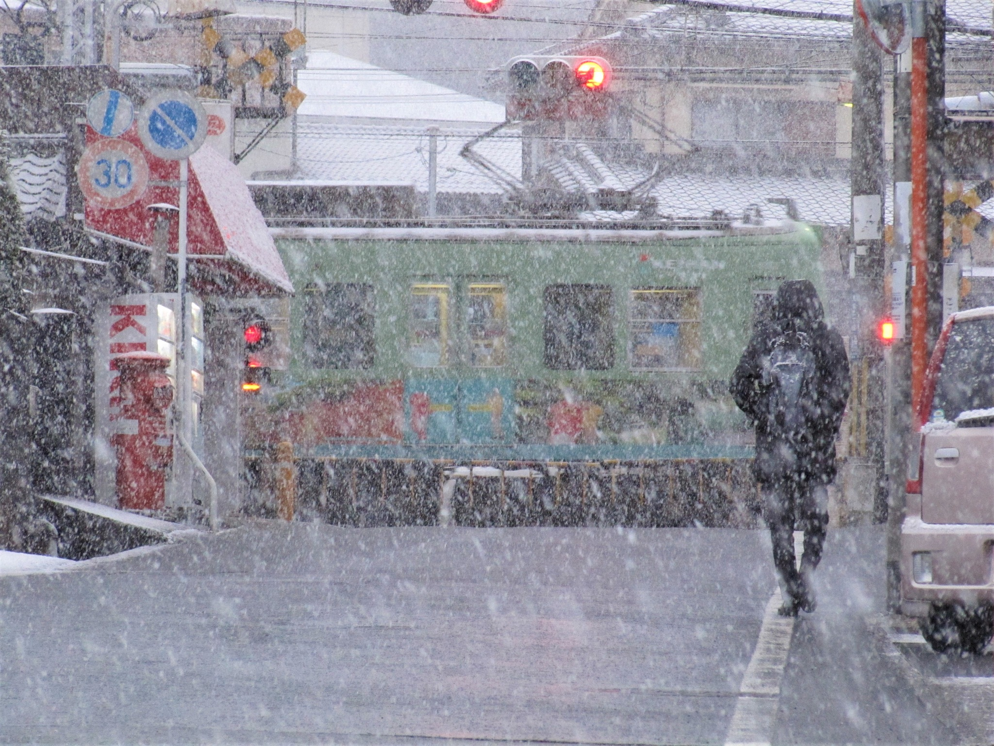 Morning snow by SANRI