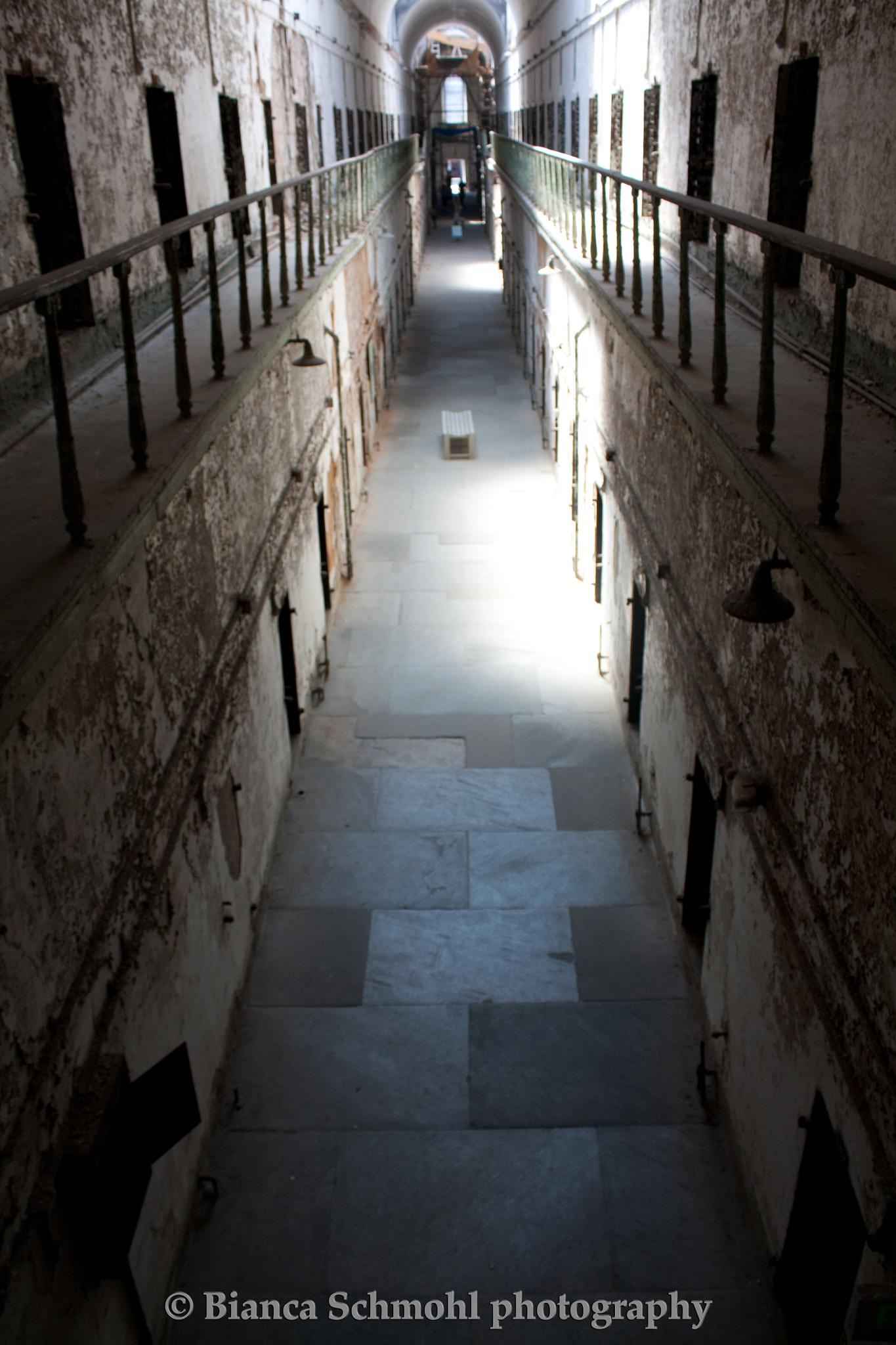 eastern state penitentiary by bianca schmohl