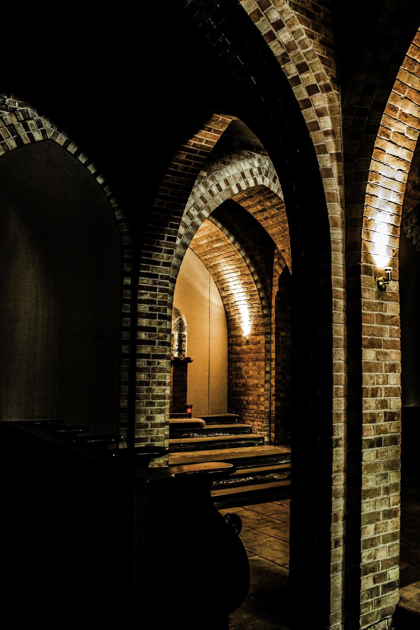 Pilgrims  Chapel Quarr  Abbey by morpheus1955