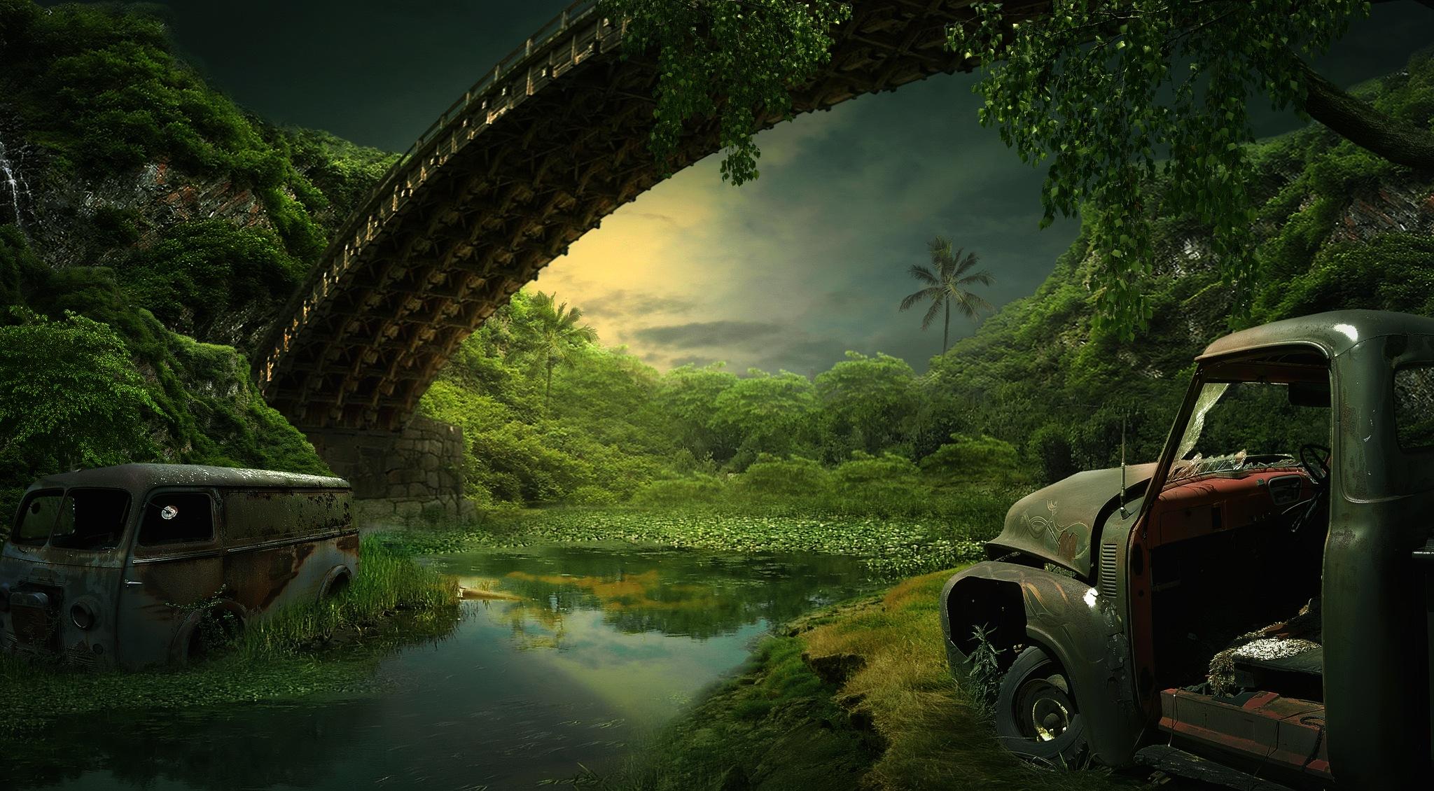Abandoned Forest by Rinaldi Ardiansyah Chaniago