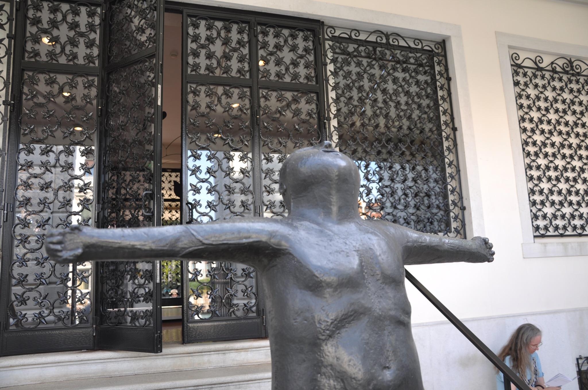 The Angel of the City  [ L'angelo della citta] 1948 bronze    peggy guggenheim collection venice, it by domenic.silvi