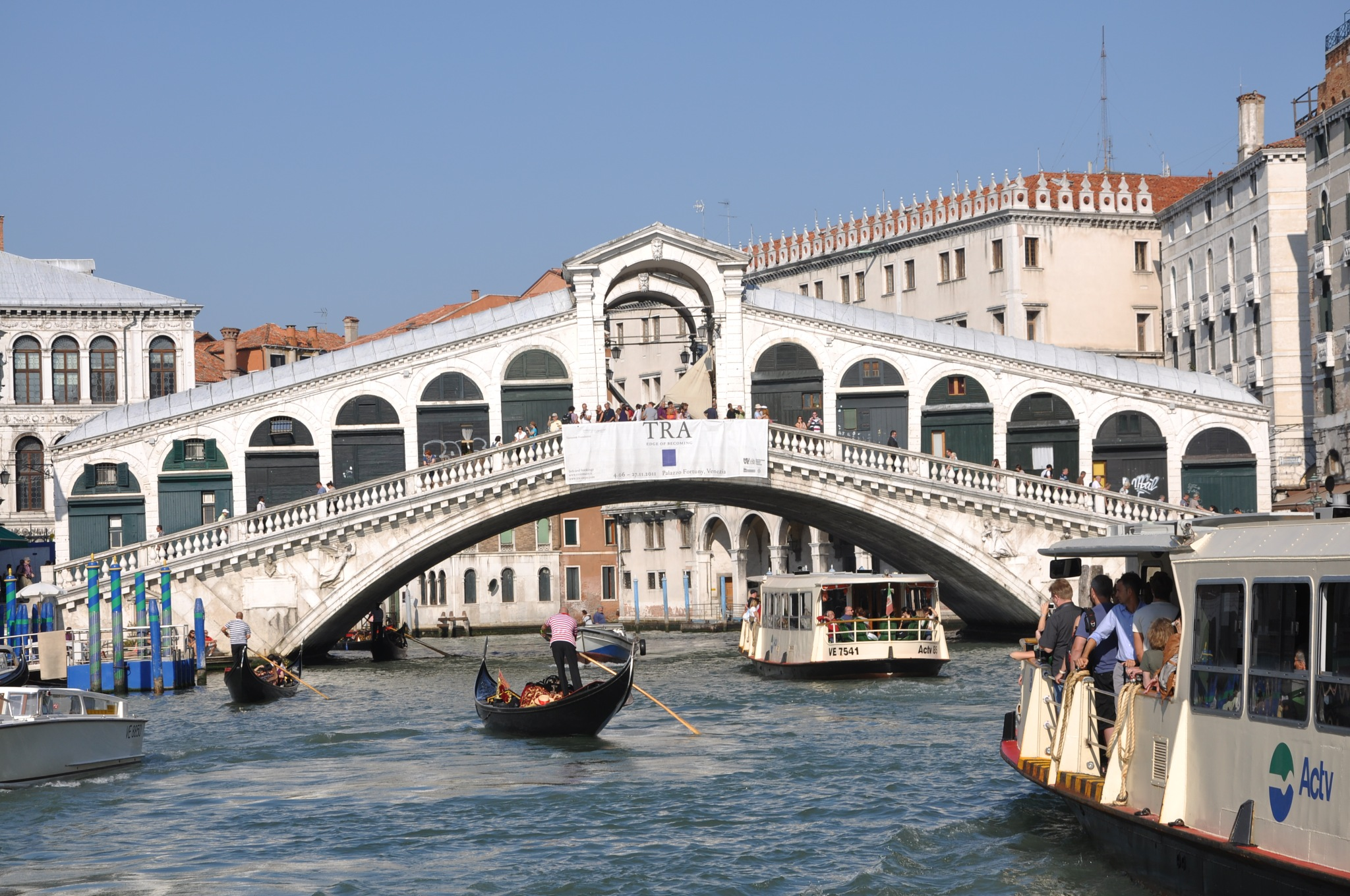 The Rilalto Bridge  ~ Venice  , Italy ~ Sept  2011 by domenic.silvi